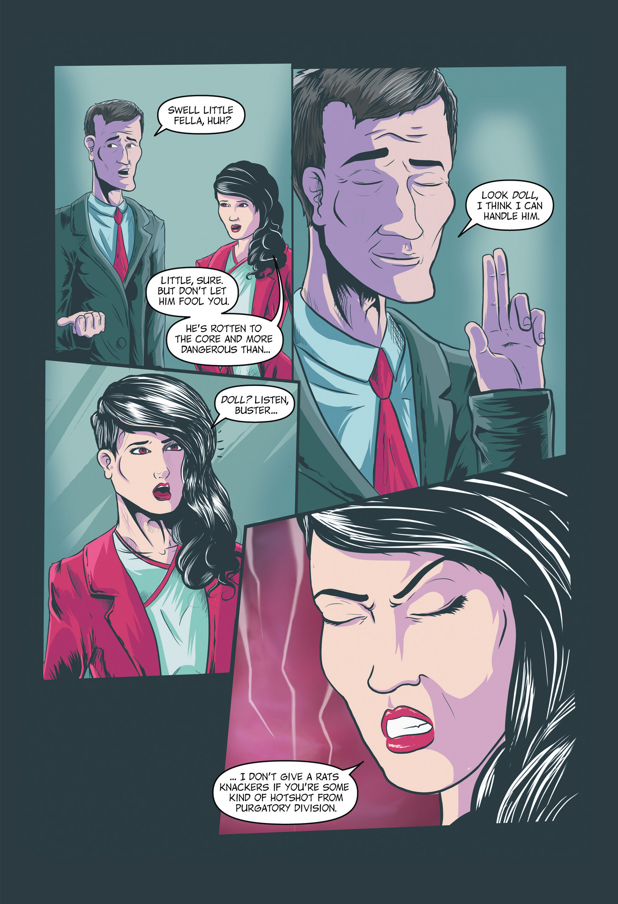 Read online Redemption Heights comic -  Issue # Full - 20
