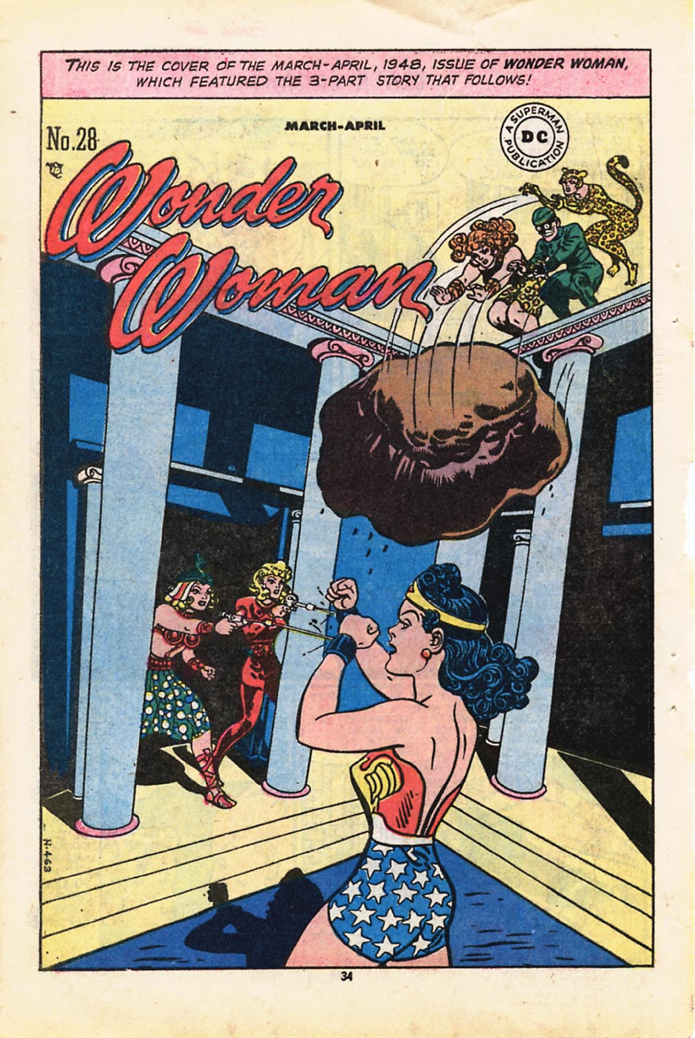 Read online Adventure Comics (1938) comic -  Issue #416 - 34