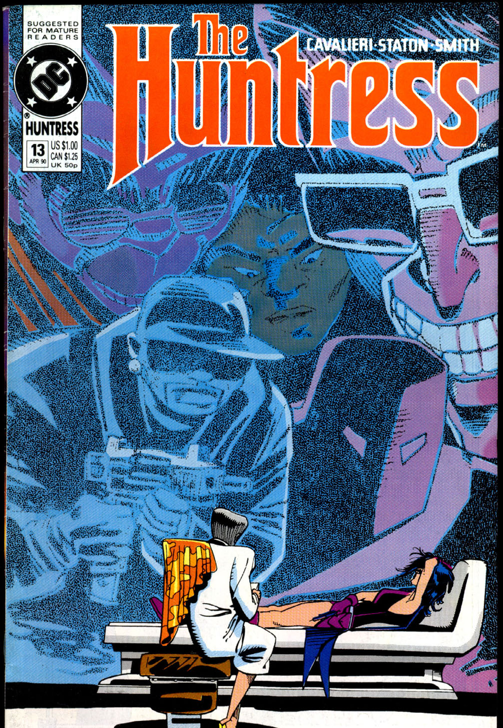 The Huntress (1989) issue 13 - Page 1