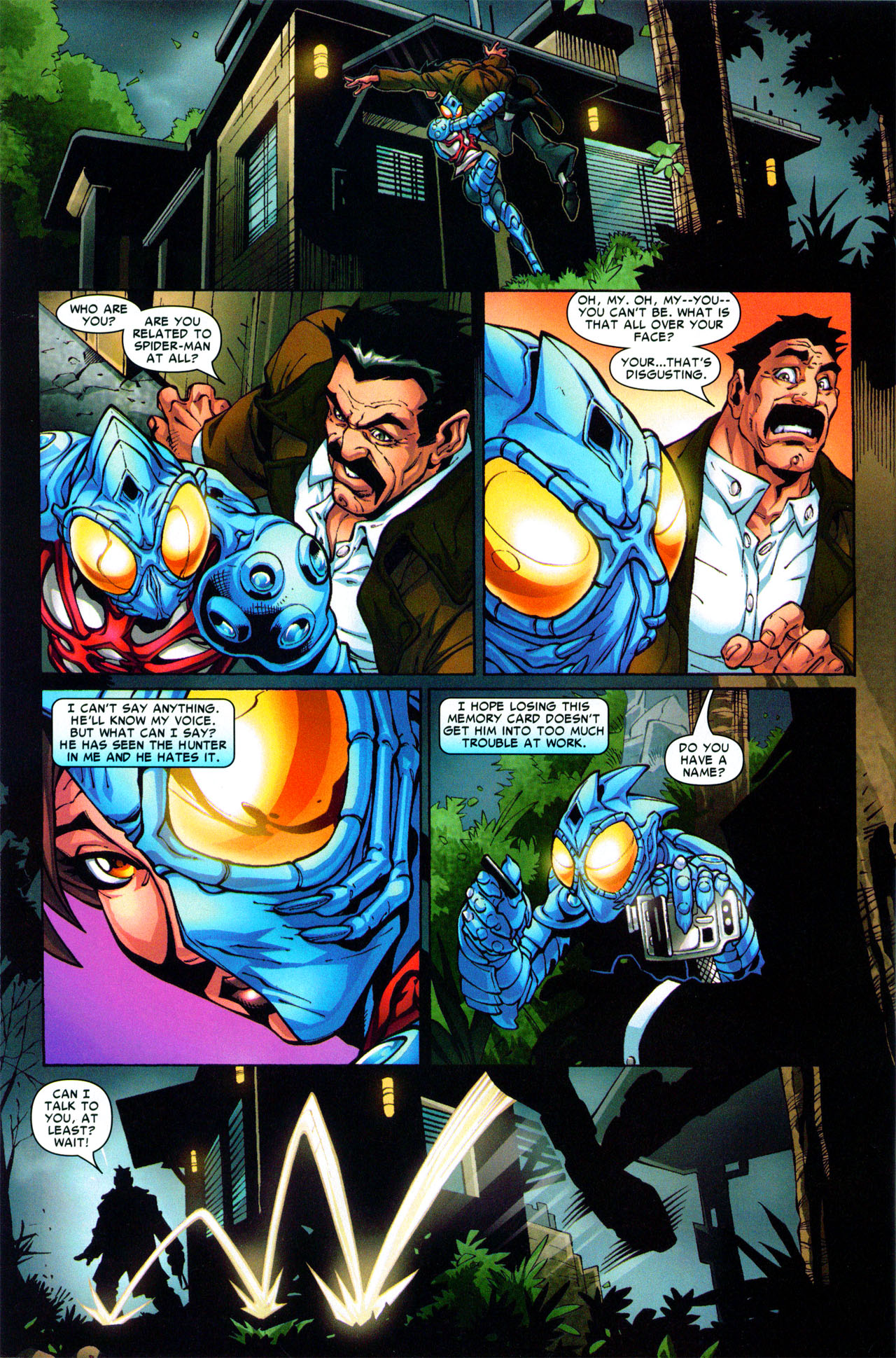 Read online Araña: Heart of the Spider comic -  Issue #3 - 22
