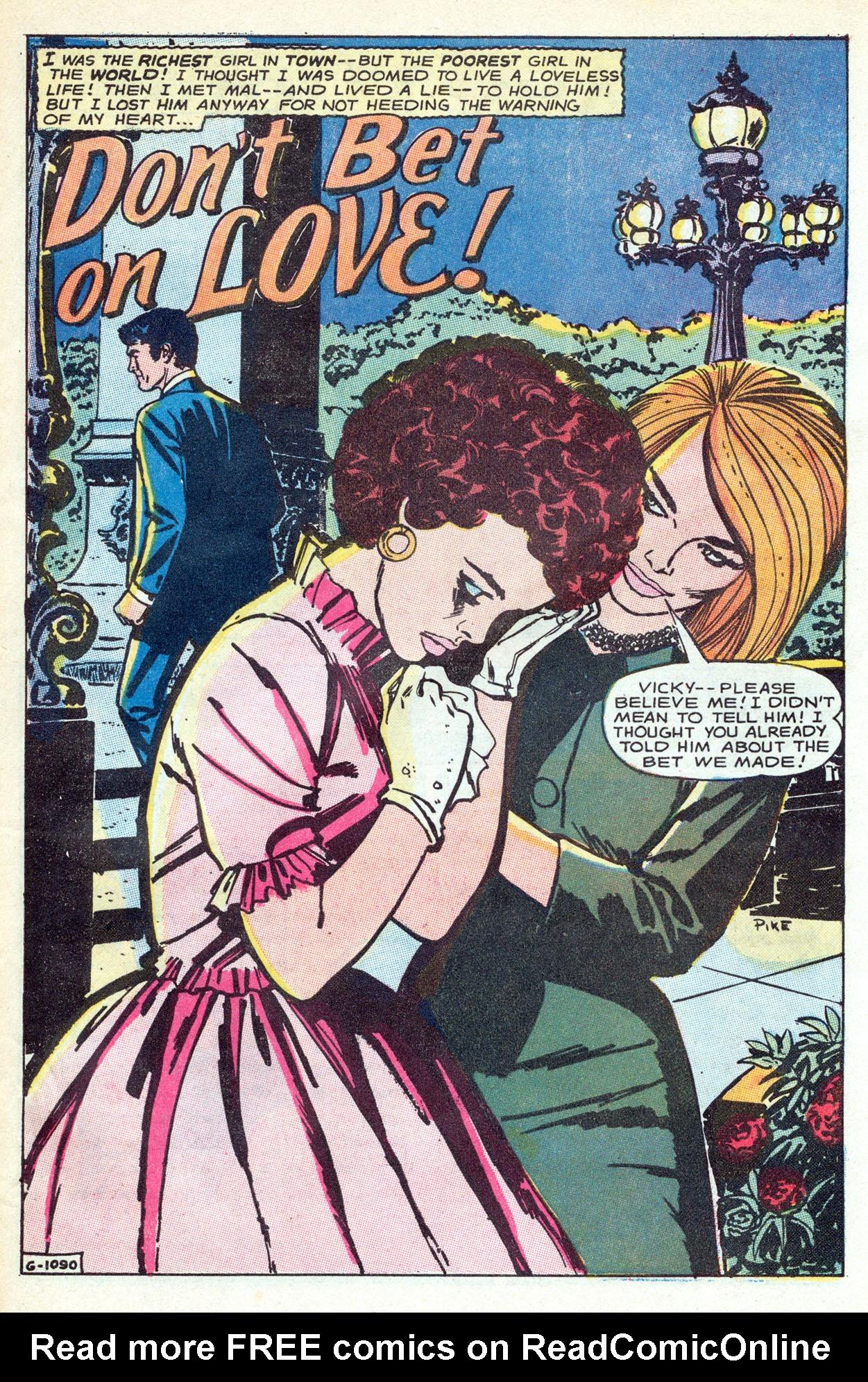 Read online Secret Hearts comic -  Issue #149 - 27