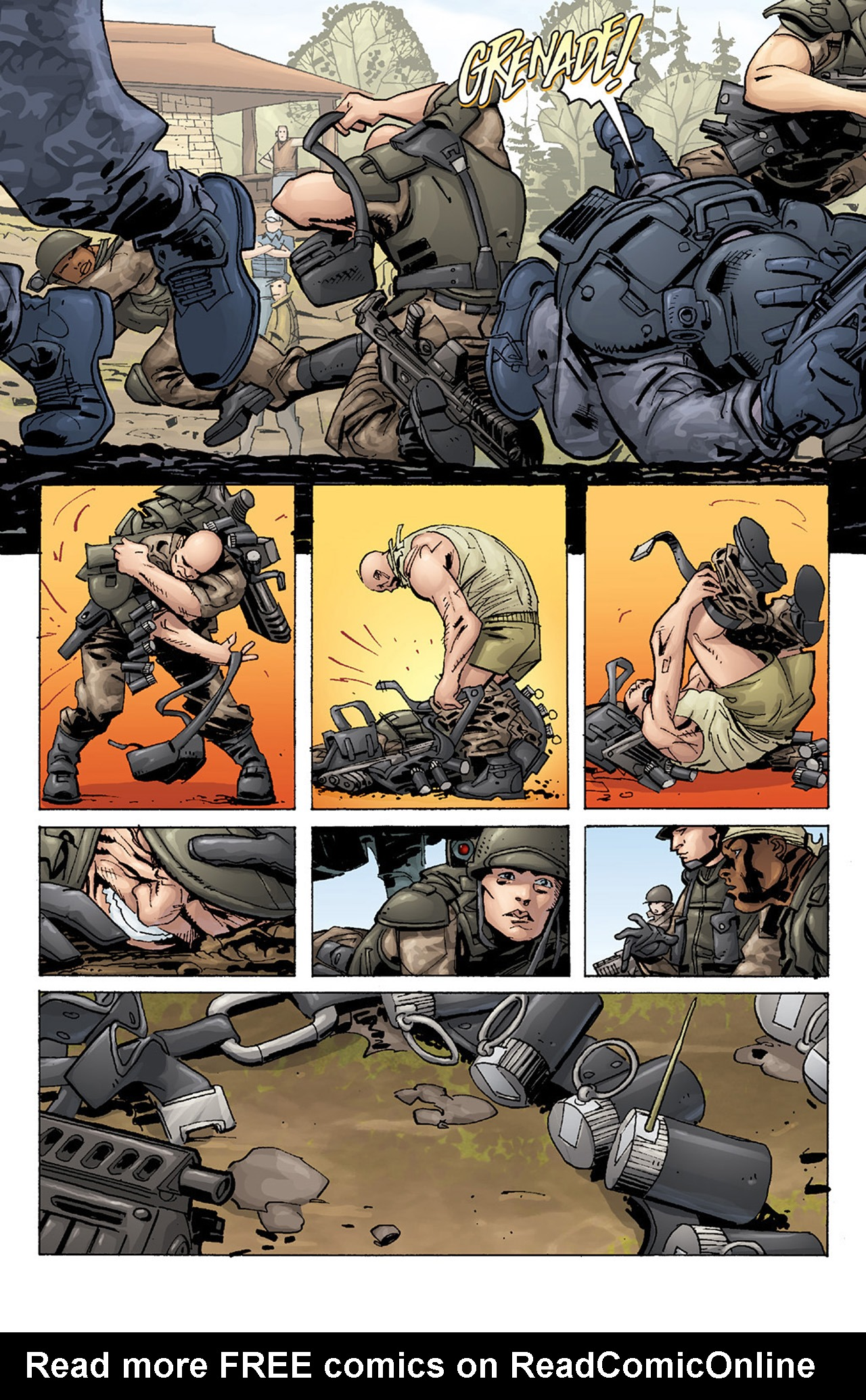 Read online Aliens vs. Predator: Three World War comic -  Issue #1 - 19