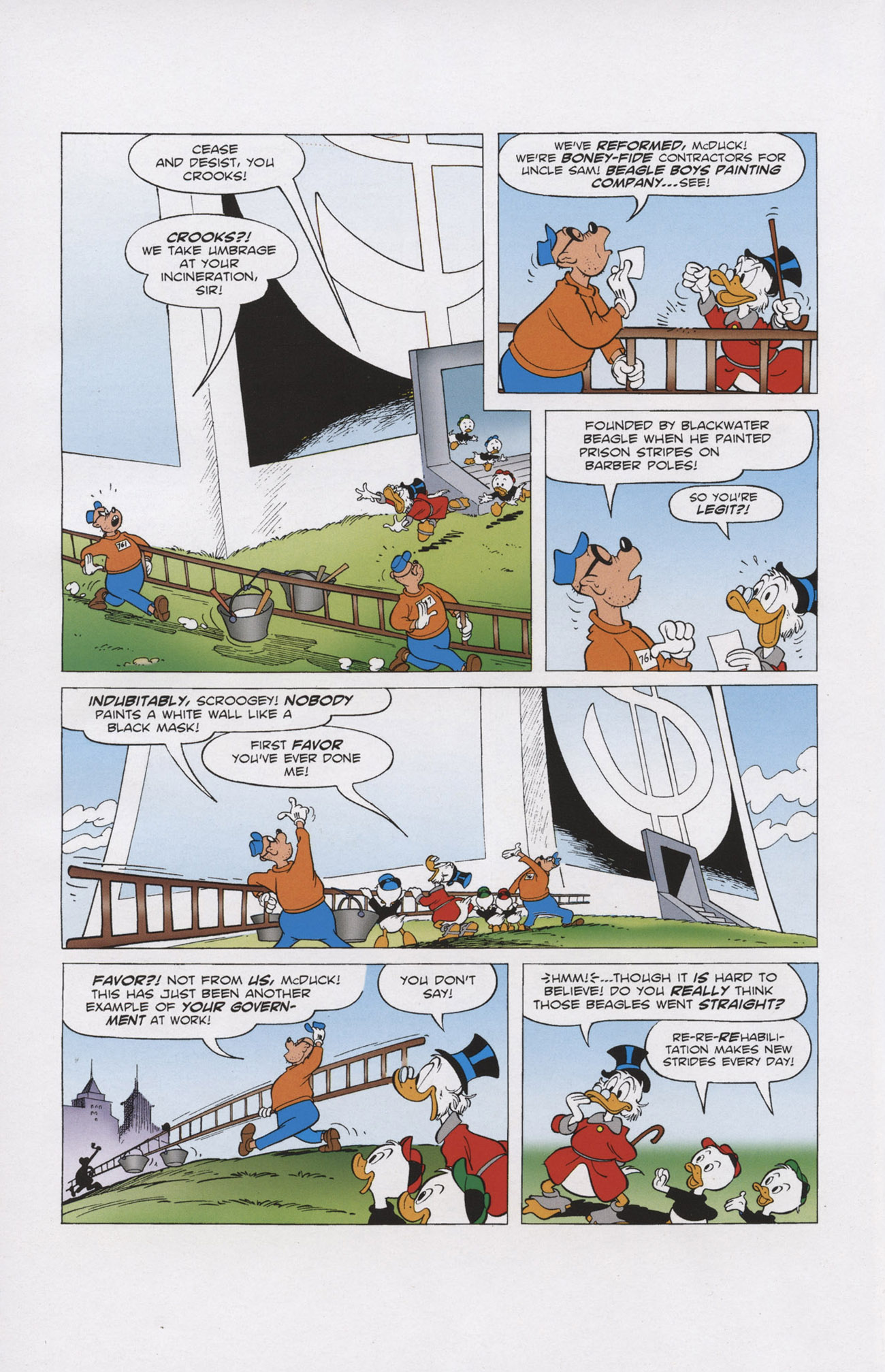 Read online Uncle Scrooge (1953) comic -  Issue #403 - 6
