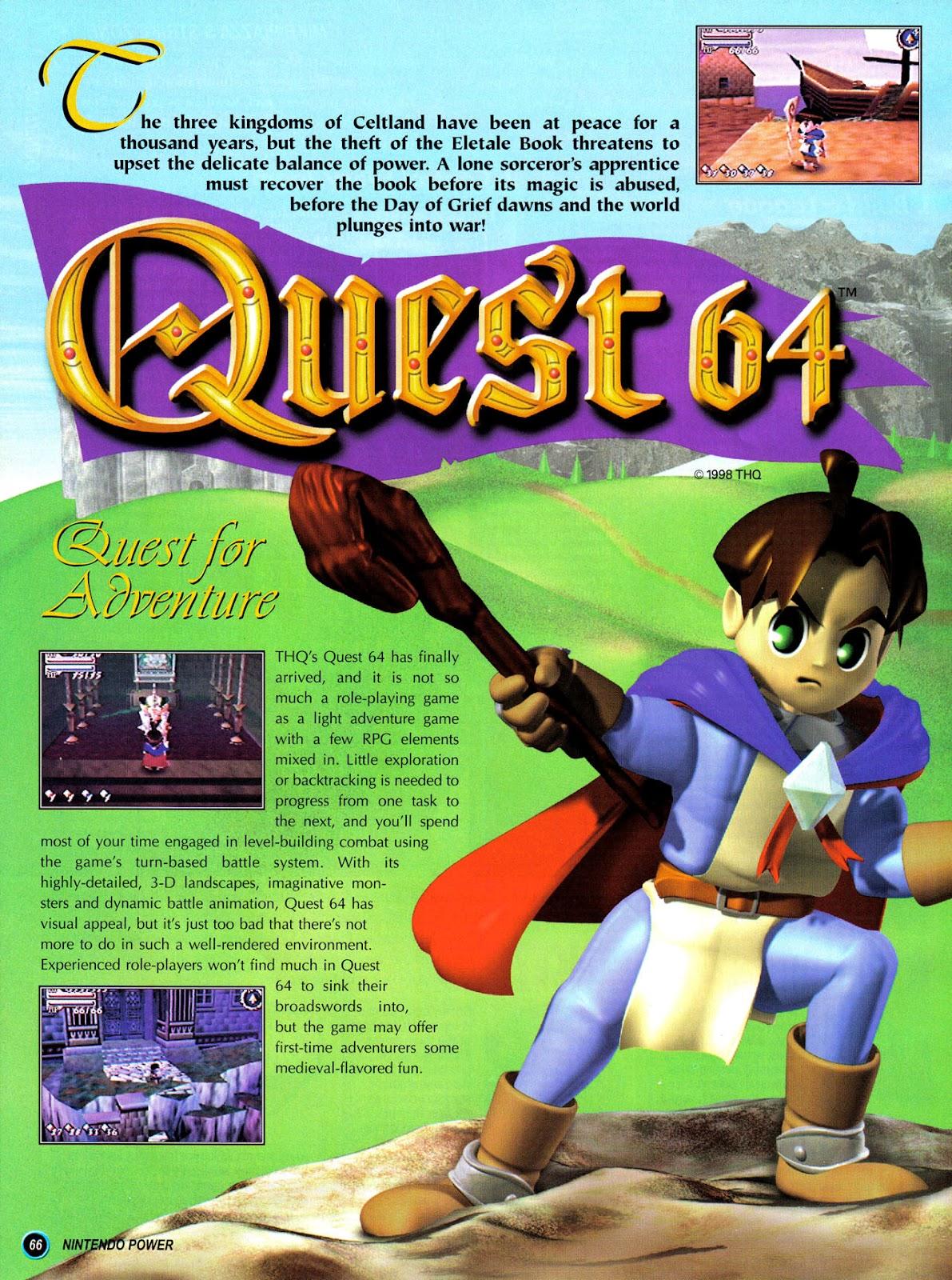 Comic Nintendo Power issue 110
