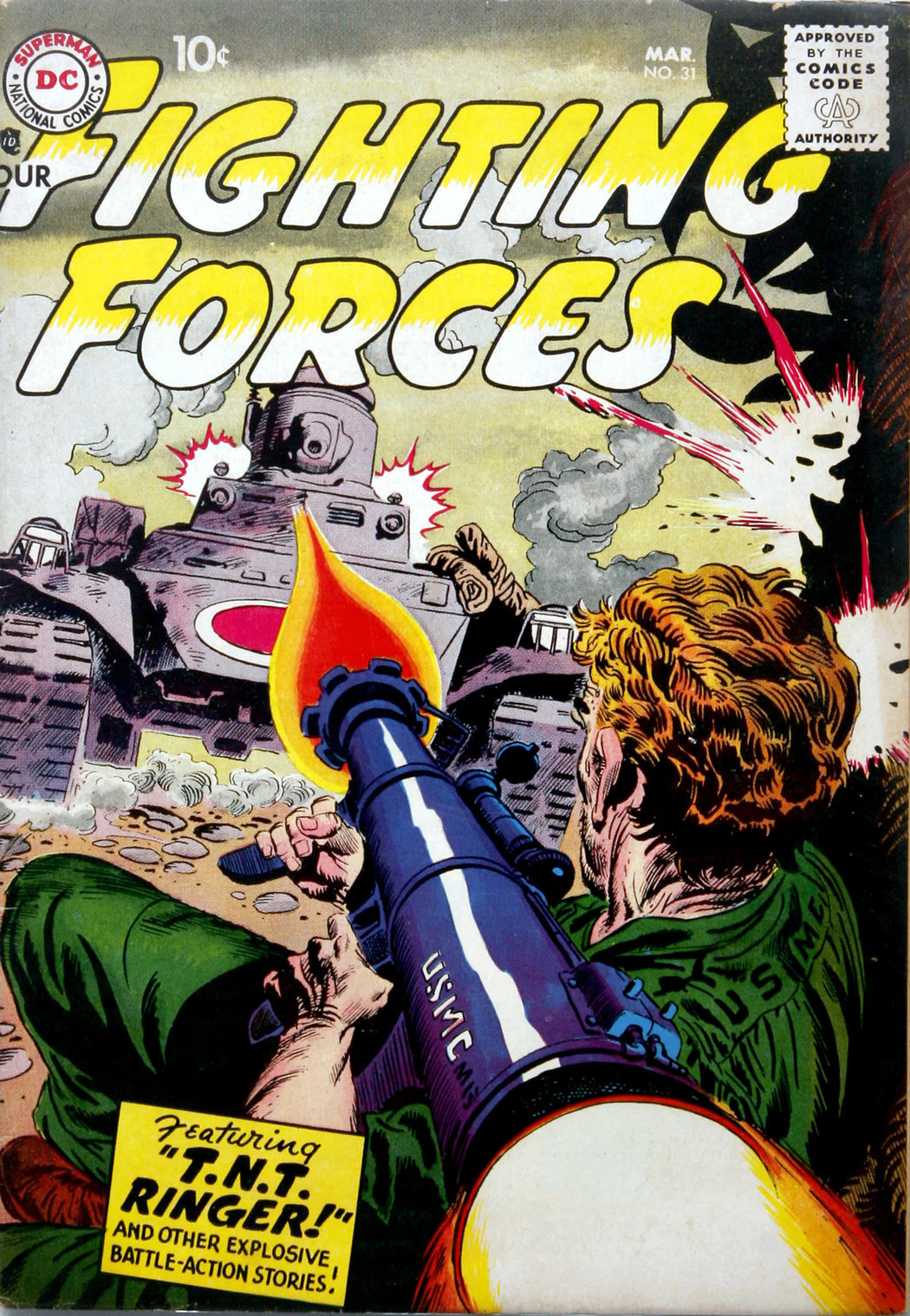 Our Fighting Forces (1954) issue 31 - Page 1