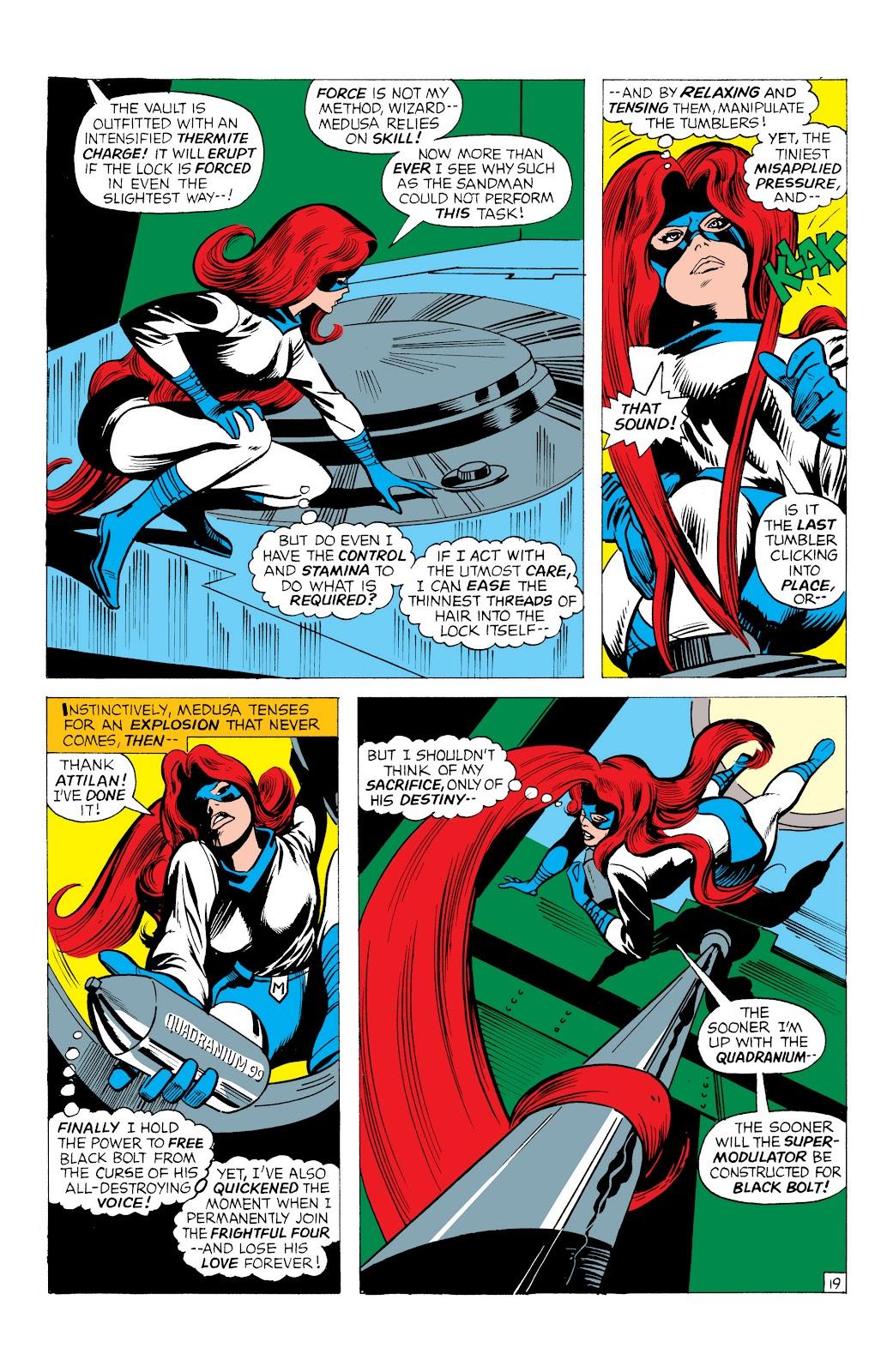 Read online Marvel Masterworks: The Inhumans comic -  Issue # TPB 1 (Part 1) - 62