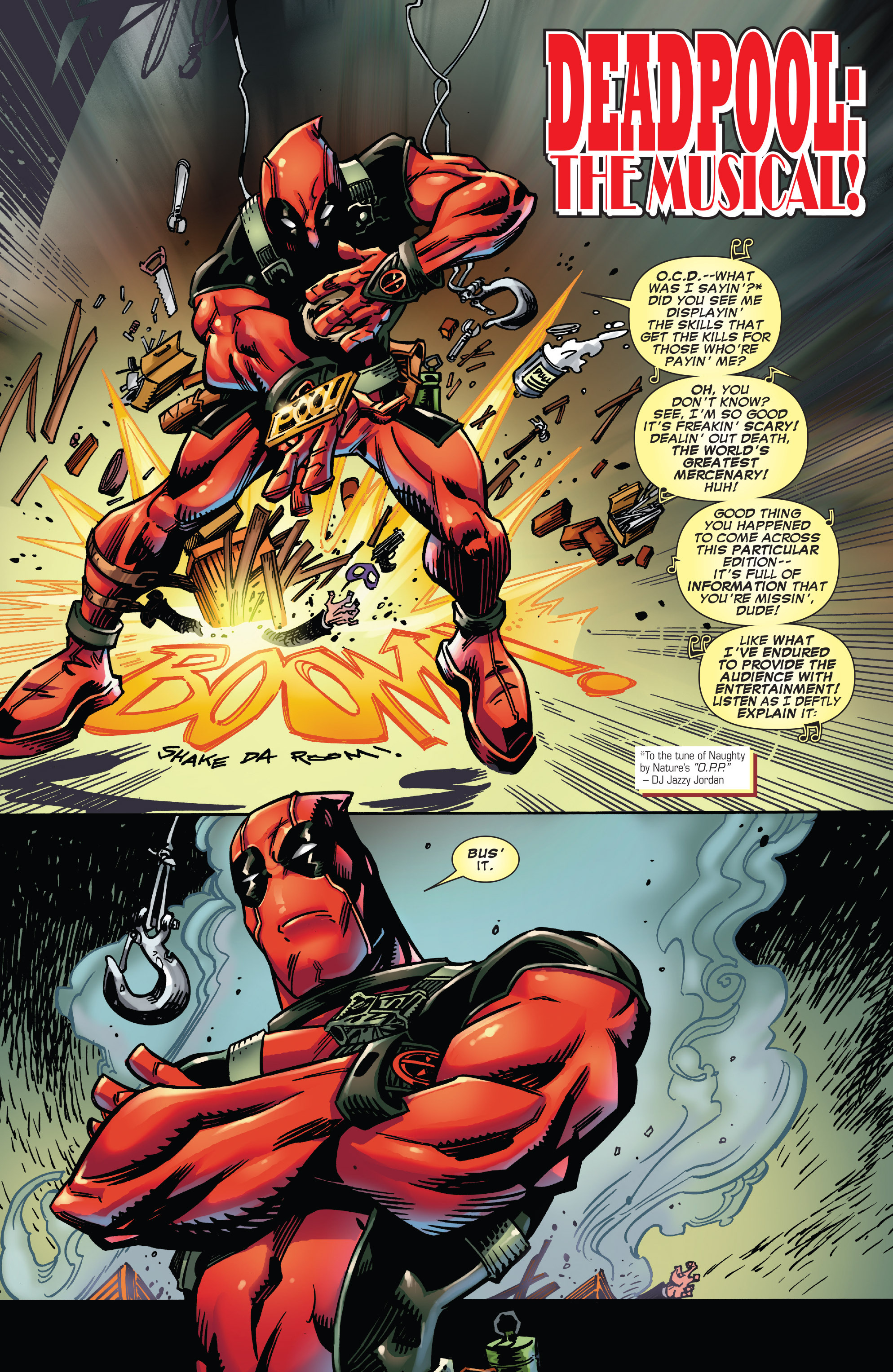 Read online True Believers: Deadpool the Musical comic -  Issue # Full - 6