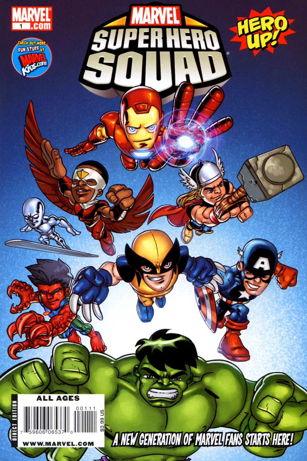 Read online Marvel Super Hero Squad: Hero Up! comic -  Issue # Full - 1