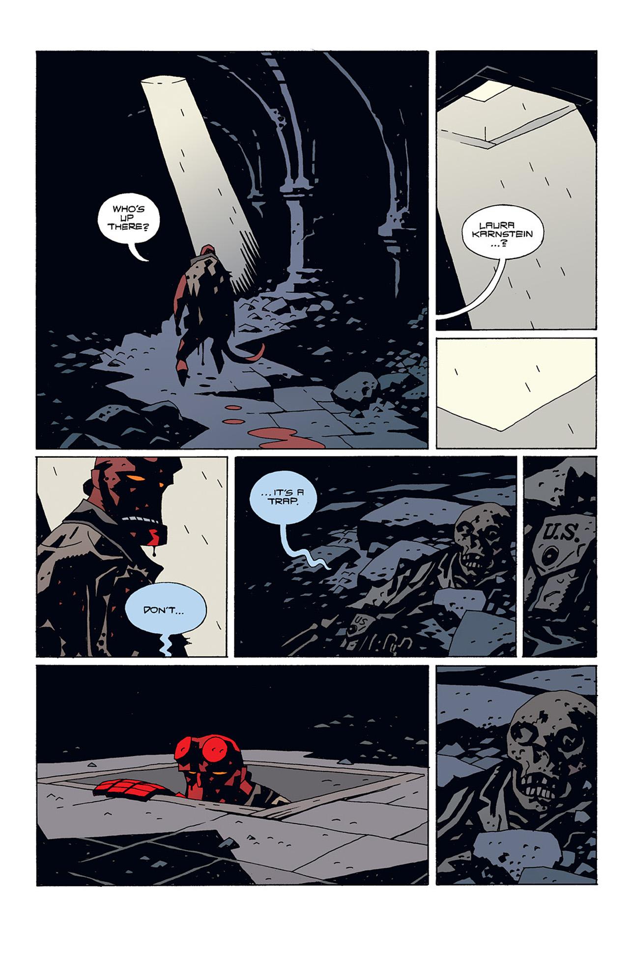 Read online Hellboy: Conqueror Worm comic -  Issue #1 - 29