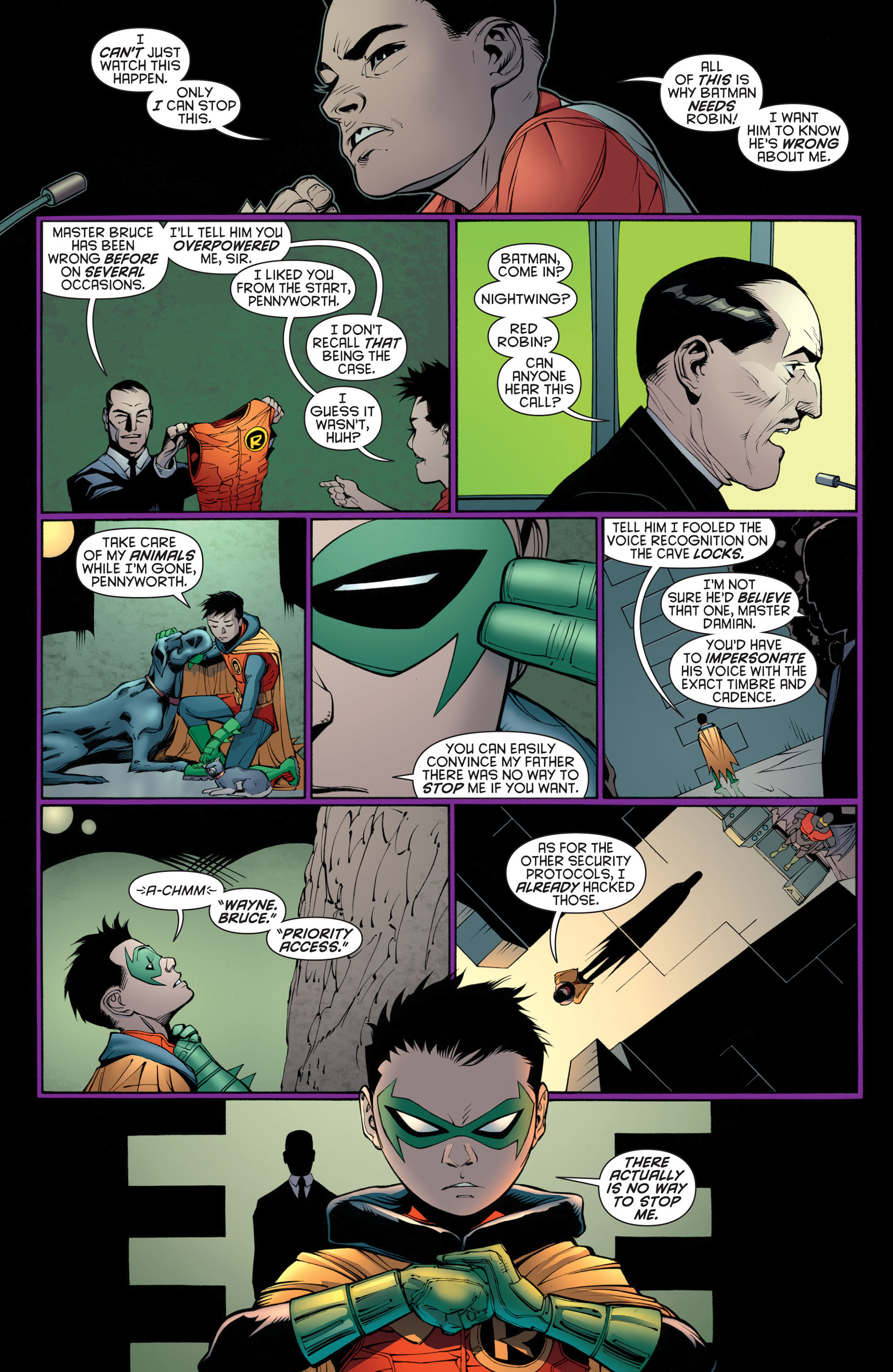Read online Batman and Robin (2011) comic -  Issue #23 - Batman and Nightwing - 17