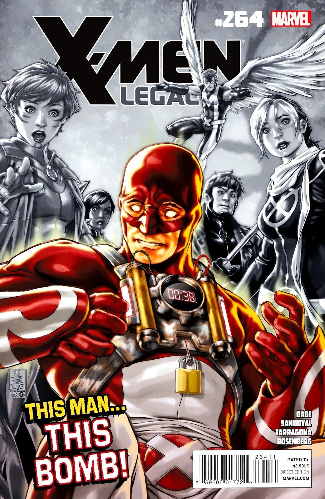 X-Men Legacy (2008) 264 Page 1
