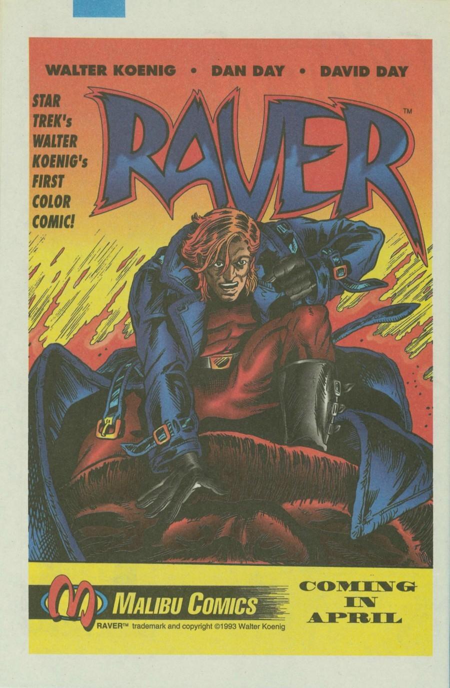 Read online Ex-Mutants comic -  Issue #4 - 31