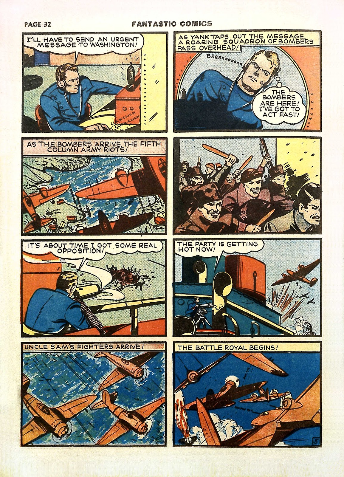 Read online Fantastic Comics comic -  Issue #11 - 35