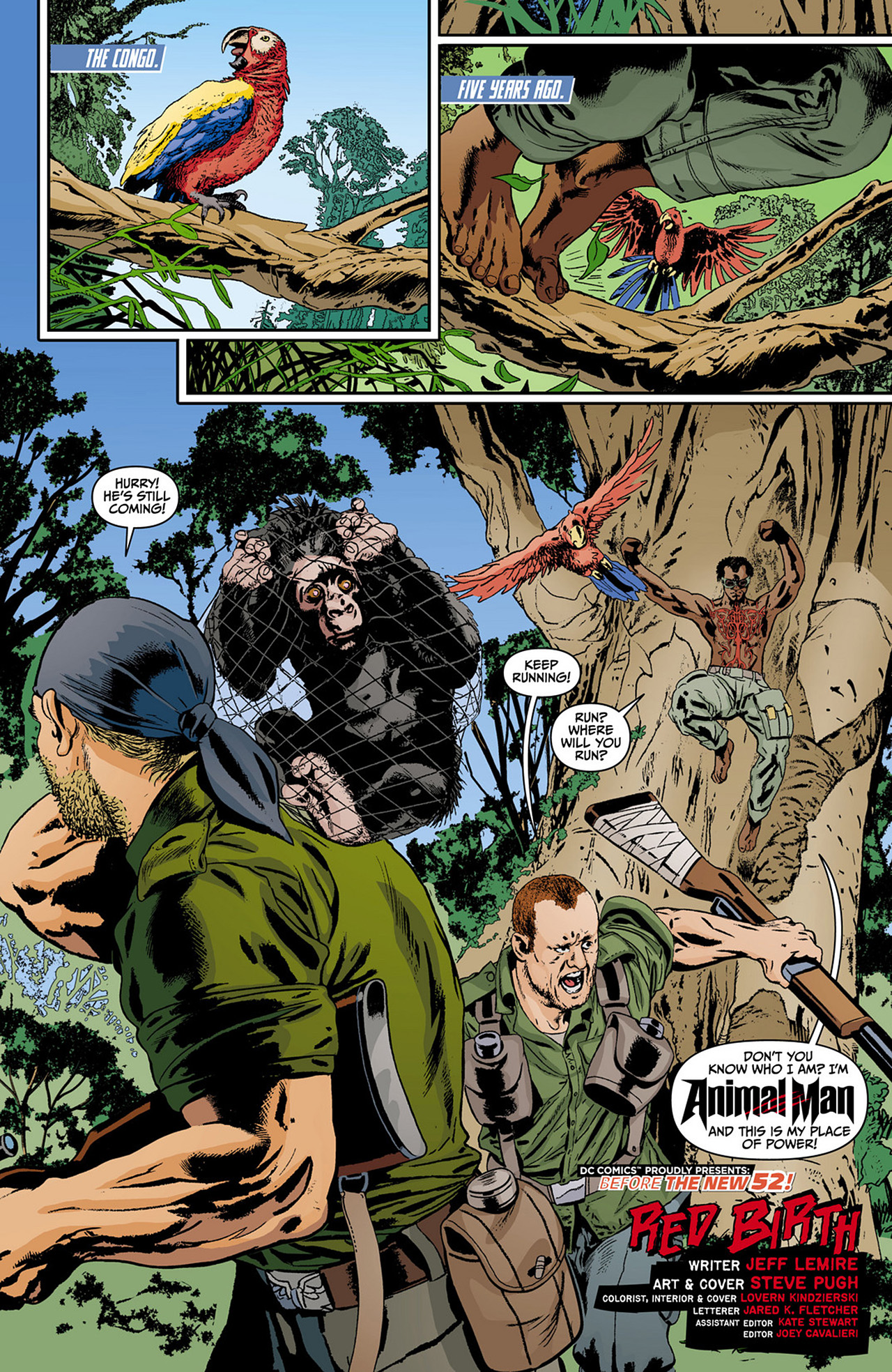 Read online Animal Man (2011) comic -  Issue #0 - 2