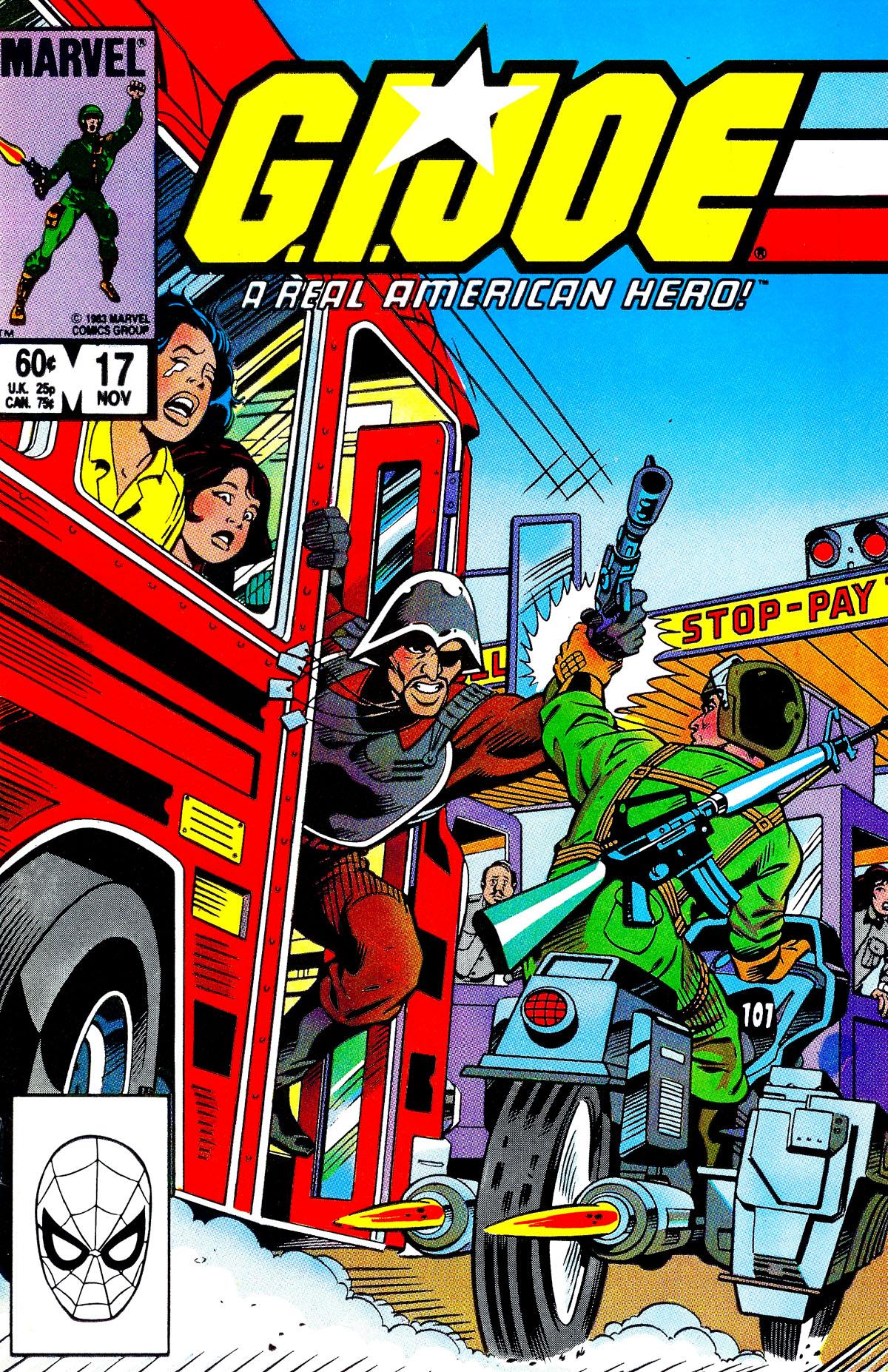 G.I. Joe: A Real American Hero 17 Page 1