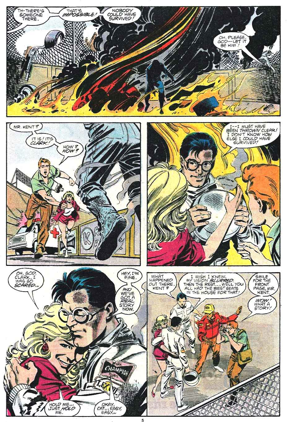 Read online Adventures of Superman (1987) comic -  Issue #435 - 6