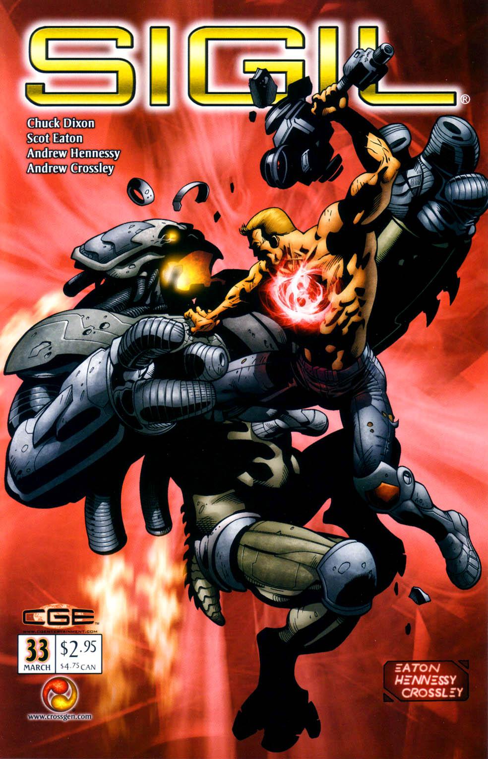 Read online Sigil (2000) comic -  Issue #33 - 3