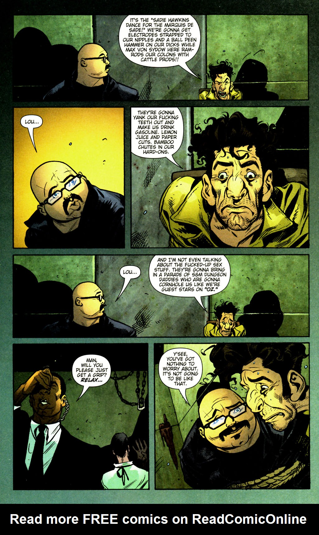 Read online Caper comic -  Issue #12 - 4