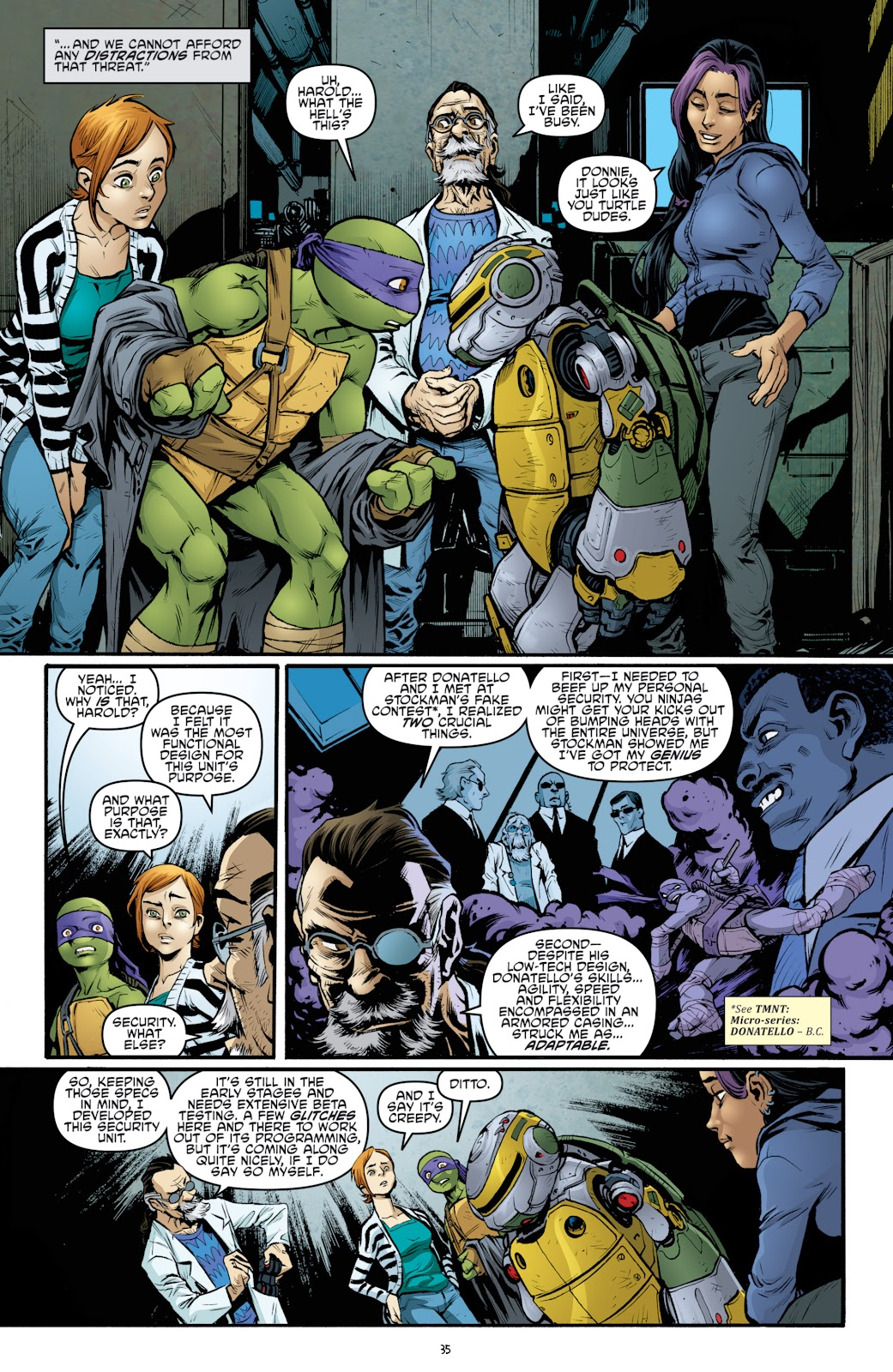Read online Teenage Mutant Ninja Turtles: The IDW Collection comic -  Issue # TPB 4 (Part 3) - 43