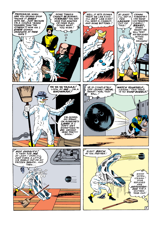 Uncanny X-Men (1963) -1 Page 5