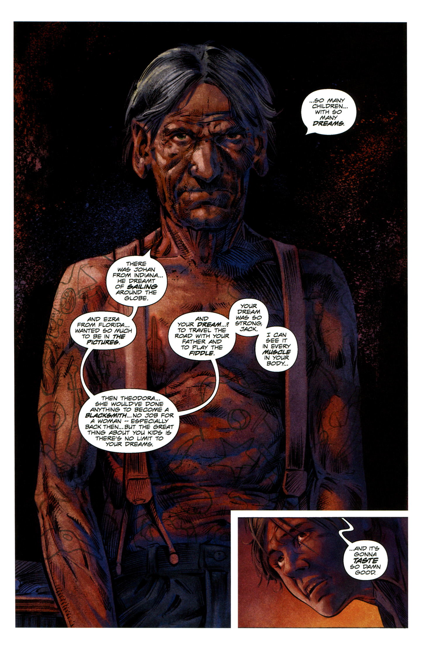 Read online Severed comic -  Issue #7 - 5