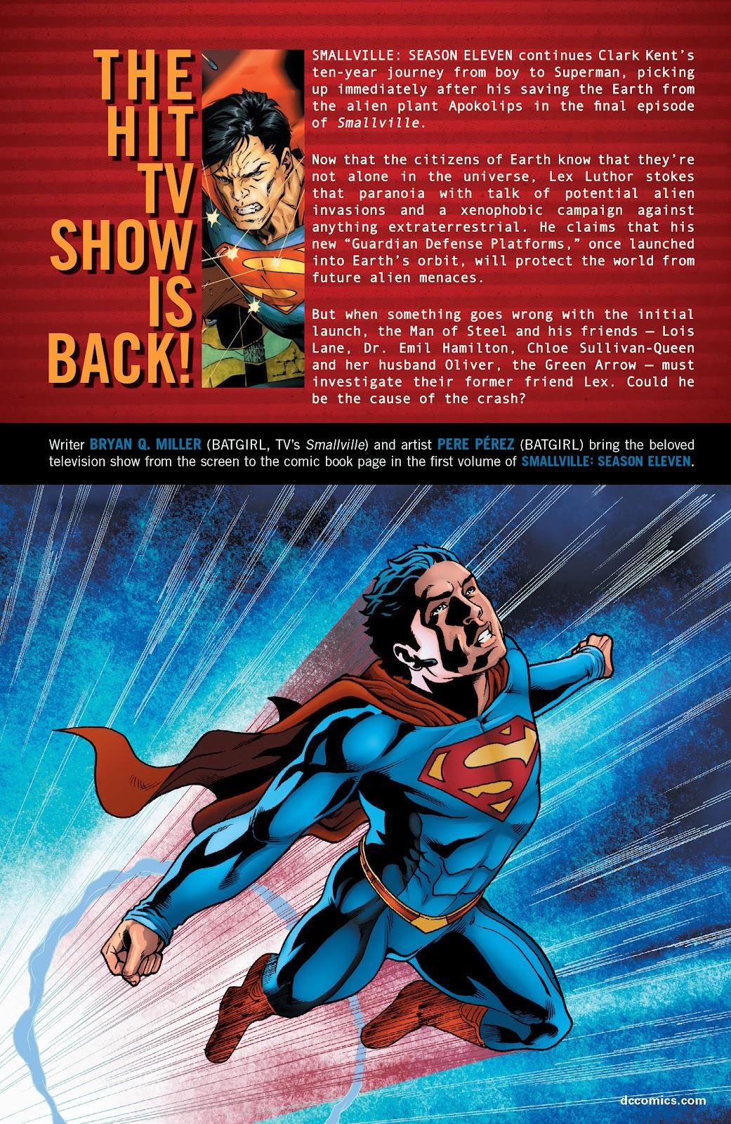 Read online Smallville Season 11 [II] comic -  Issue # TPB 1 - 142