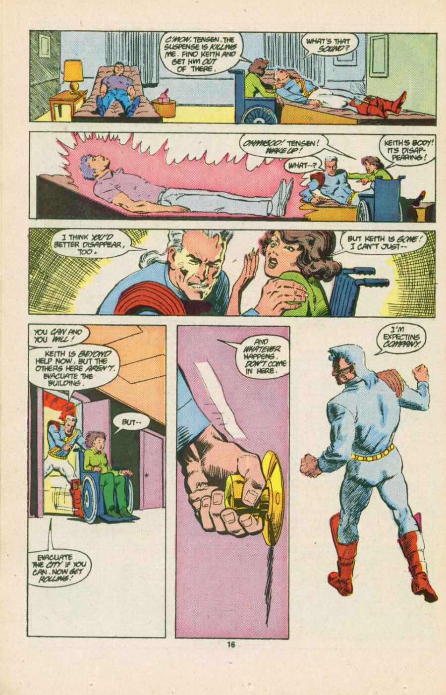 Read online Justice (1986) comic -  Issue #15 - 17