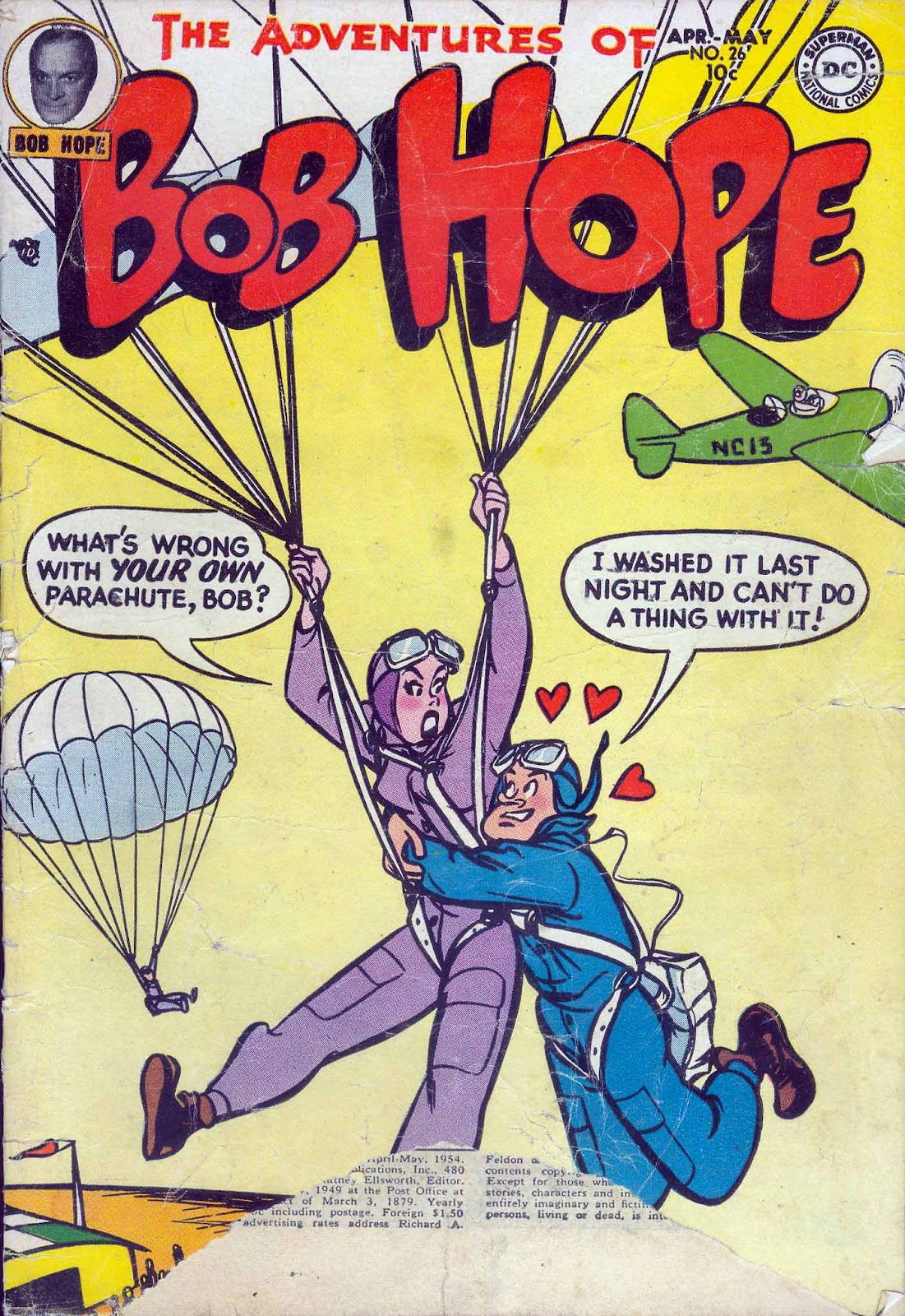 The Adventures of Bob Hope issue 26 - Page 1