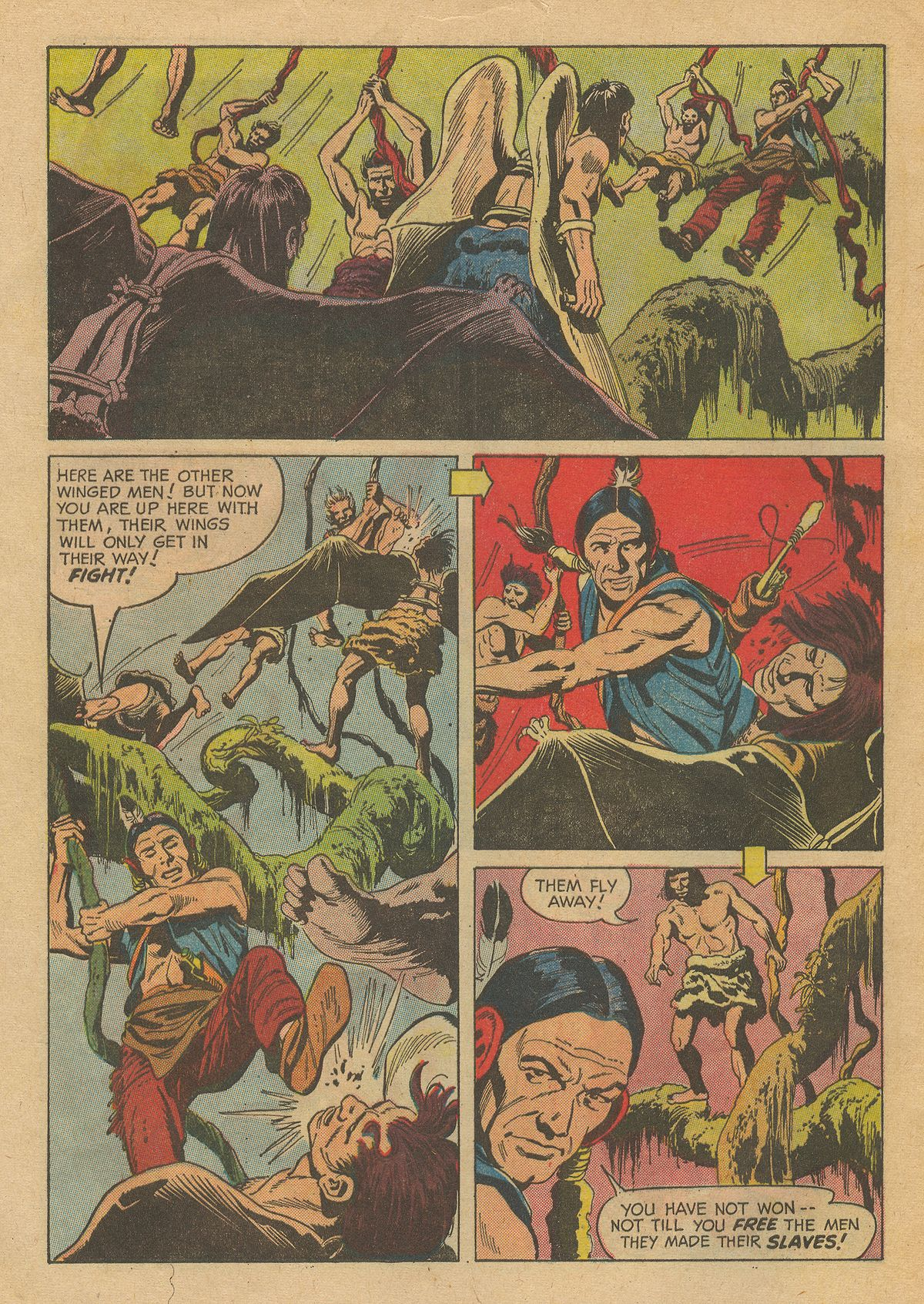 Read online Turok, Son of Stone comic -  Issue #54 - 32