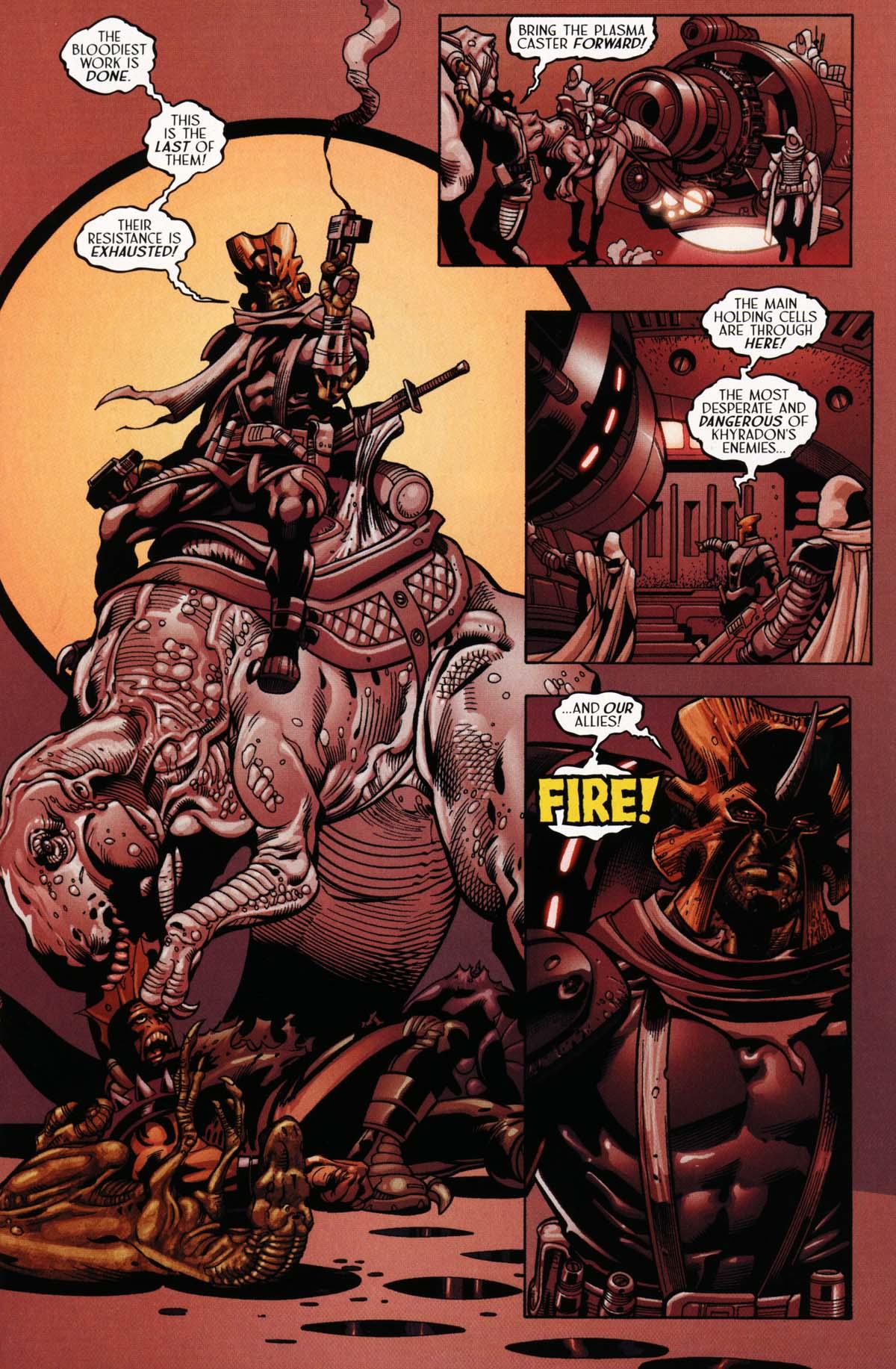 Read online Sigil (2000) comic -  Issue #25 - 23