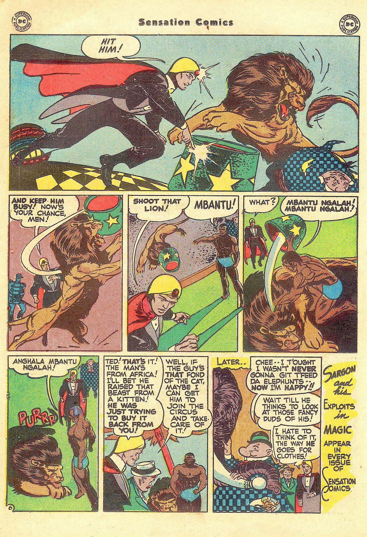 Read online Sensation (Mystery) Comics comic -  Issue #57 - 30