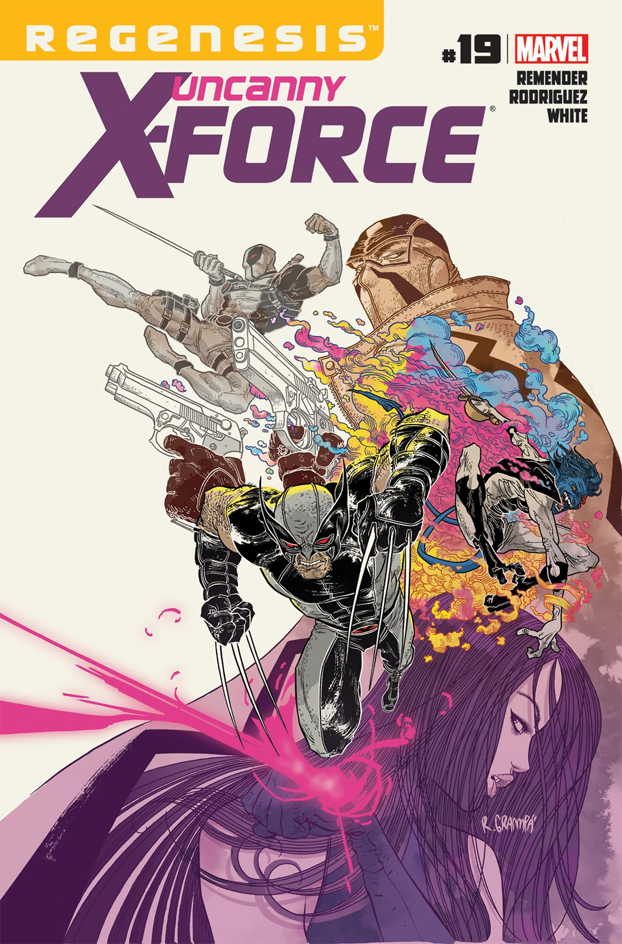 Read online Uncanny X-Force (2010) comic -  Issue #19 - 1