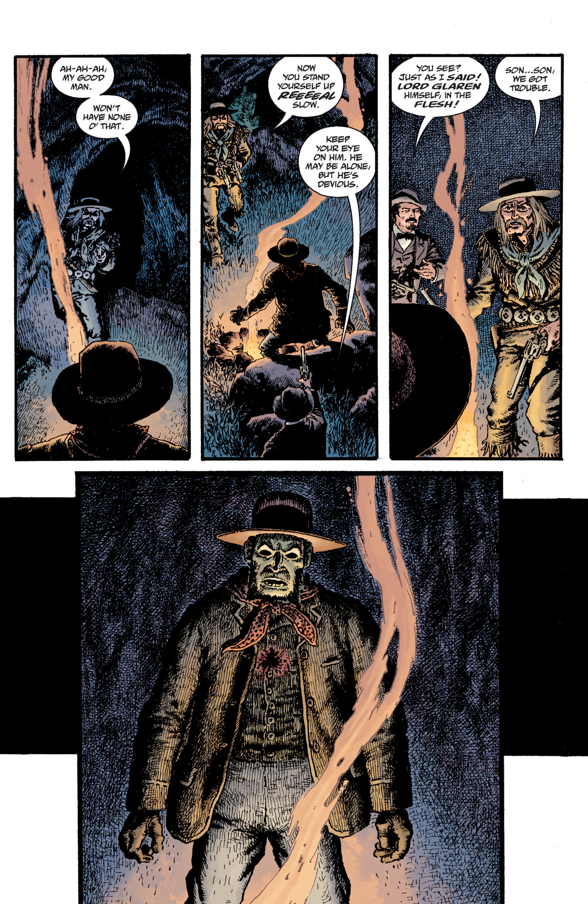 Read online Sir Edward Grey, Witchfinder: Lost and Gone Forever comic -  Issue # TPB - 52
