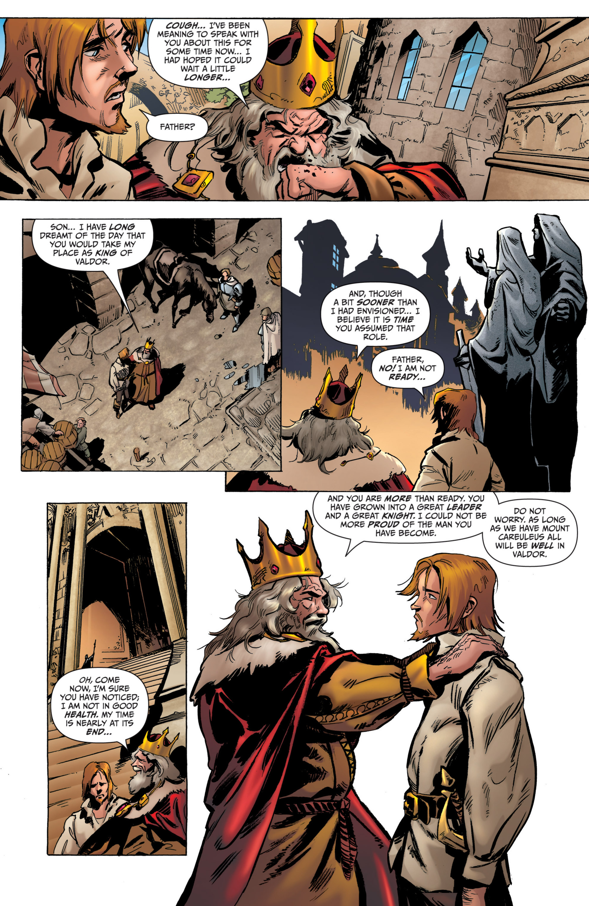 Read online Grimm Fairy Tales presents Grimm Universe comic -  Issue # TPB - 131