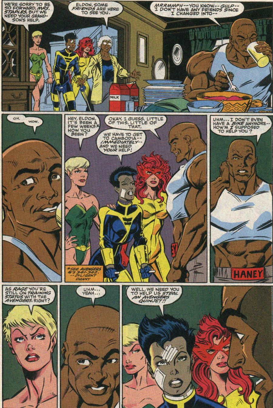 The New Warriors Issue #22 #26 - English 13