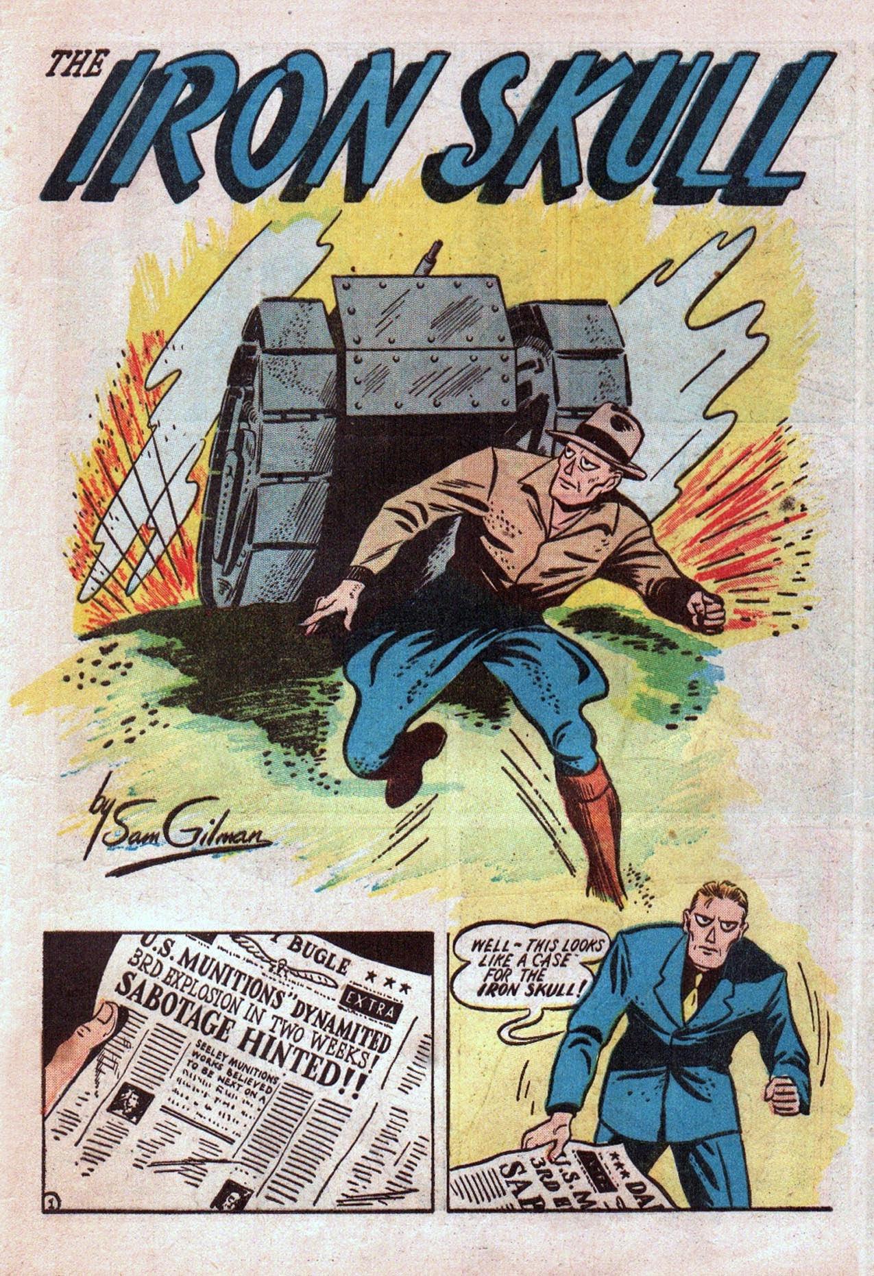 Read online Amazing Man Comics comic -  Issue #20 - 58