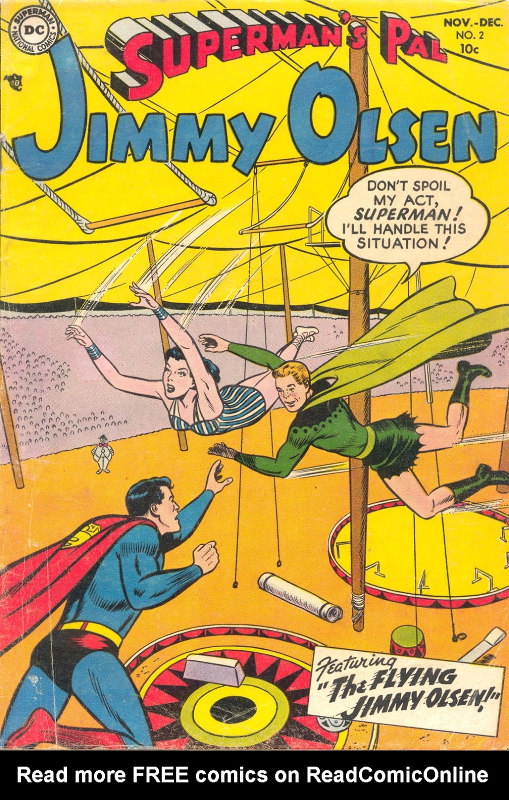 Supermans Pal Jimmy Olsen (1954) 2 Page 1