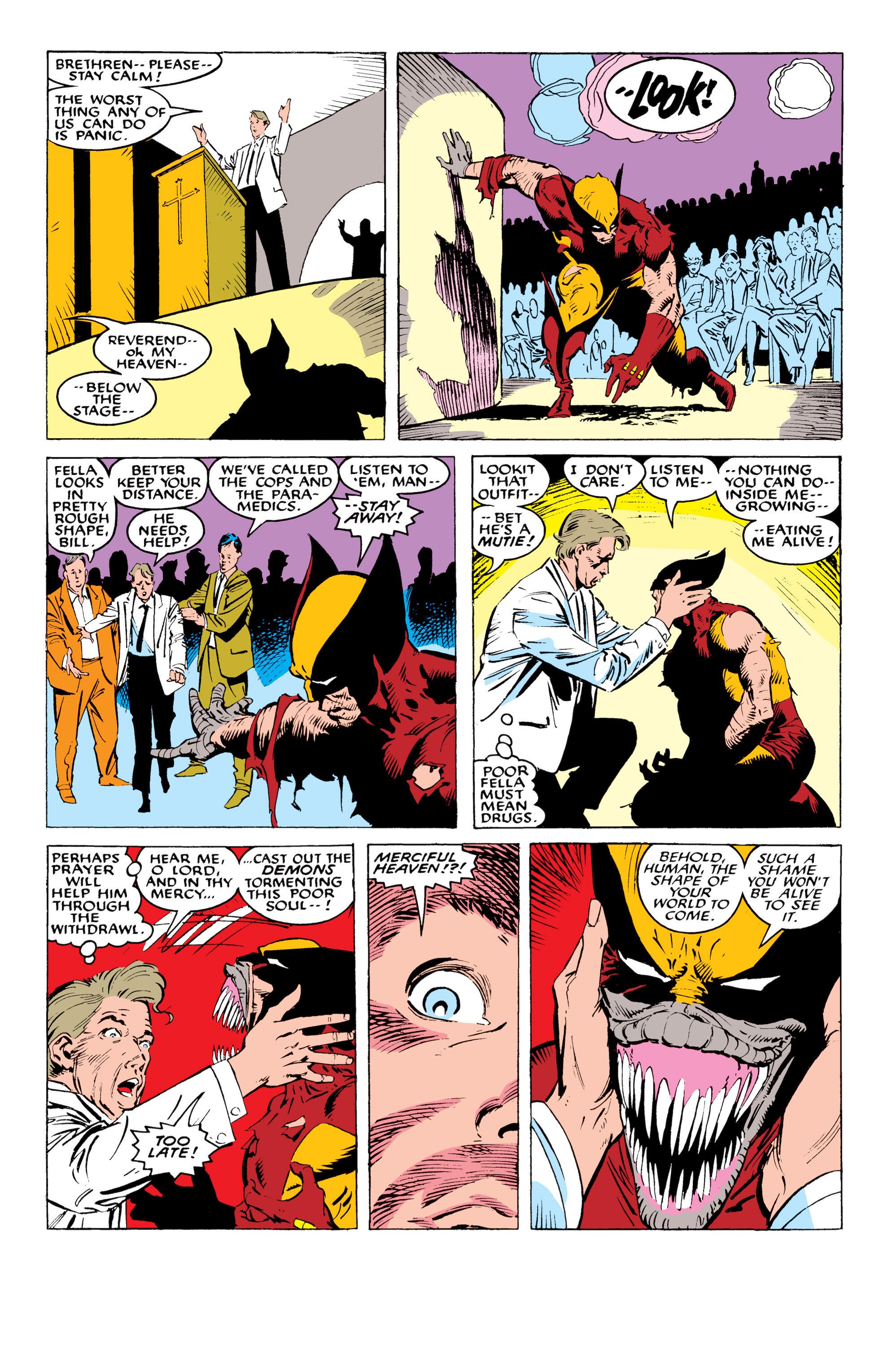 Read online Uncanny X-Men (1963) comic -  Issue #234 - 18