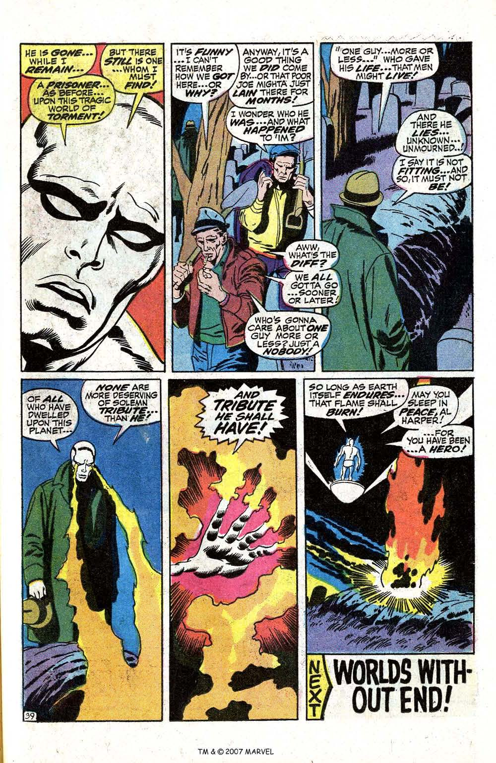 Read online Silver Surfer (1968) comic -  Issue #5 - 49