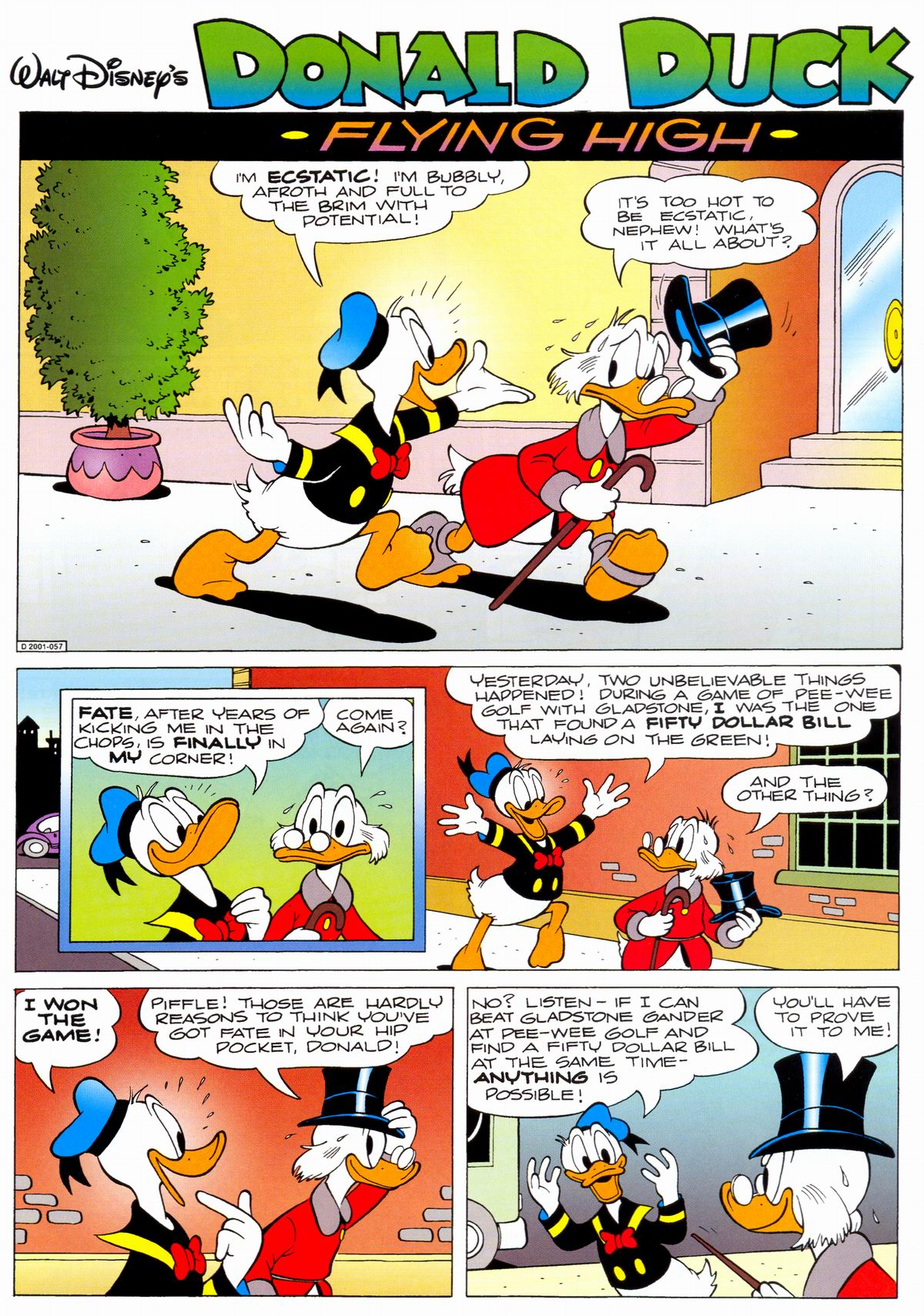 Read online Uncle Scrooge (1953) comic -  Issue #330 - 3