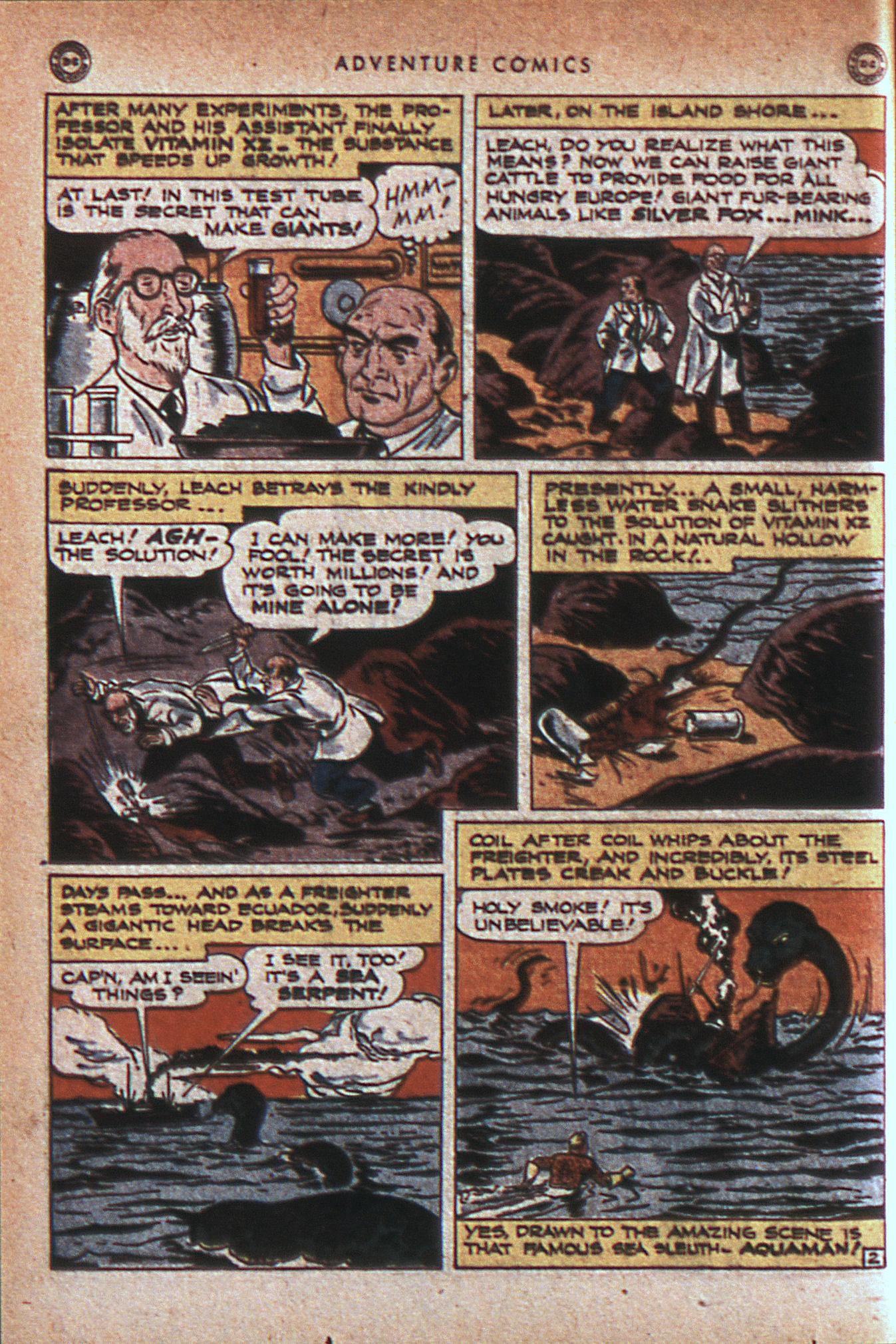 Read online Adventure Comics (1938) comic -  Issue #124 - 35