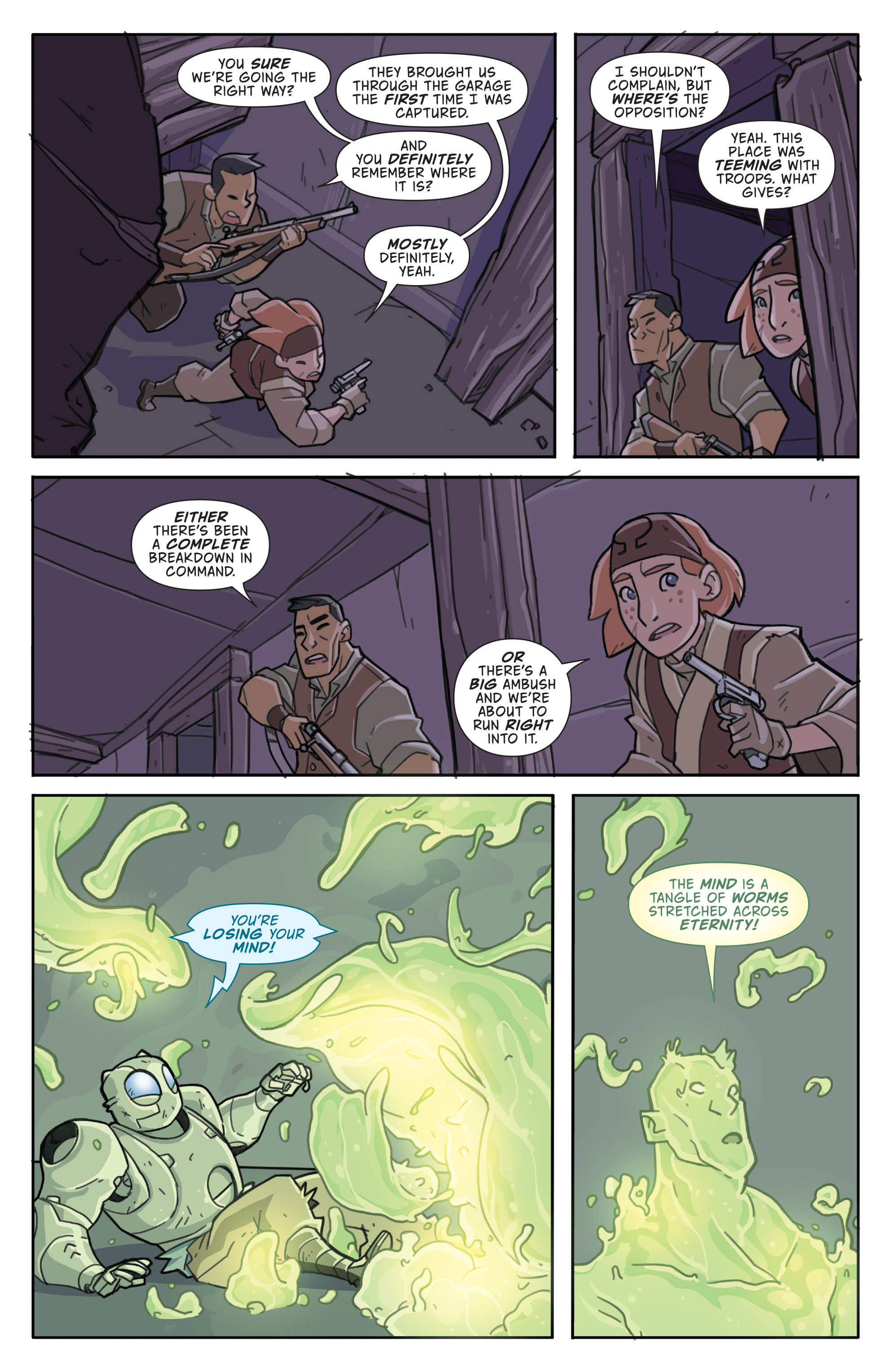 Read online Atomic Robo and the Temple of Od comic -  Issue #5 - 11