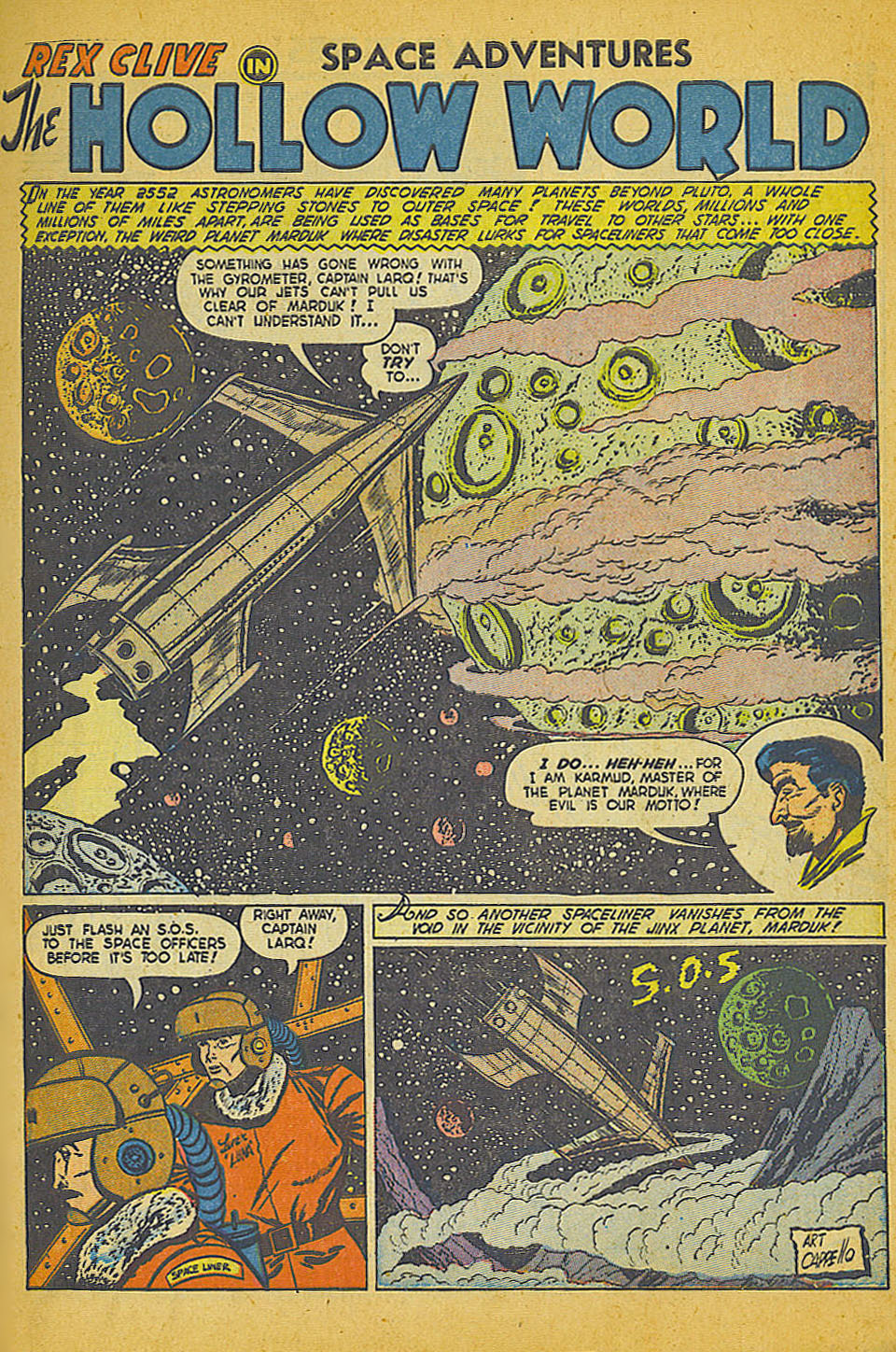 Space Adventures (1952) issue 3 - Page 2
