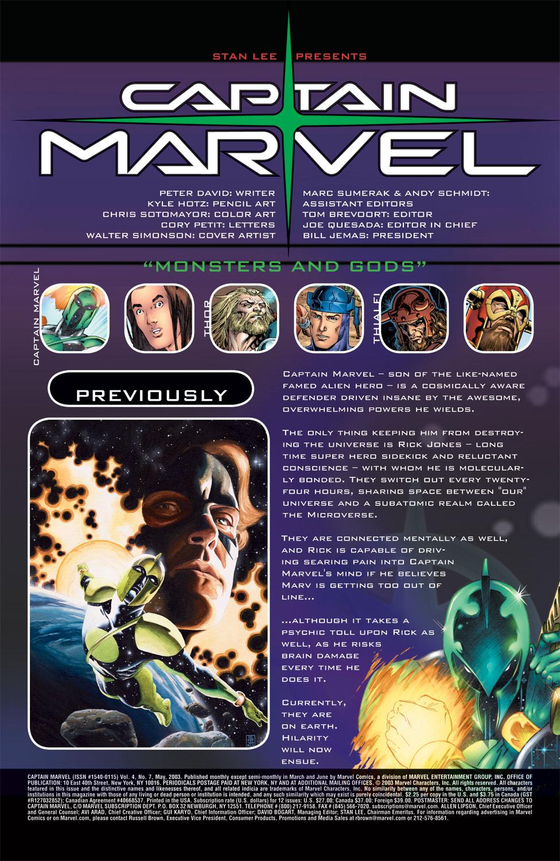 Captain Marvel (2002) Issue #7 #7 - English 2