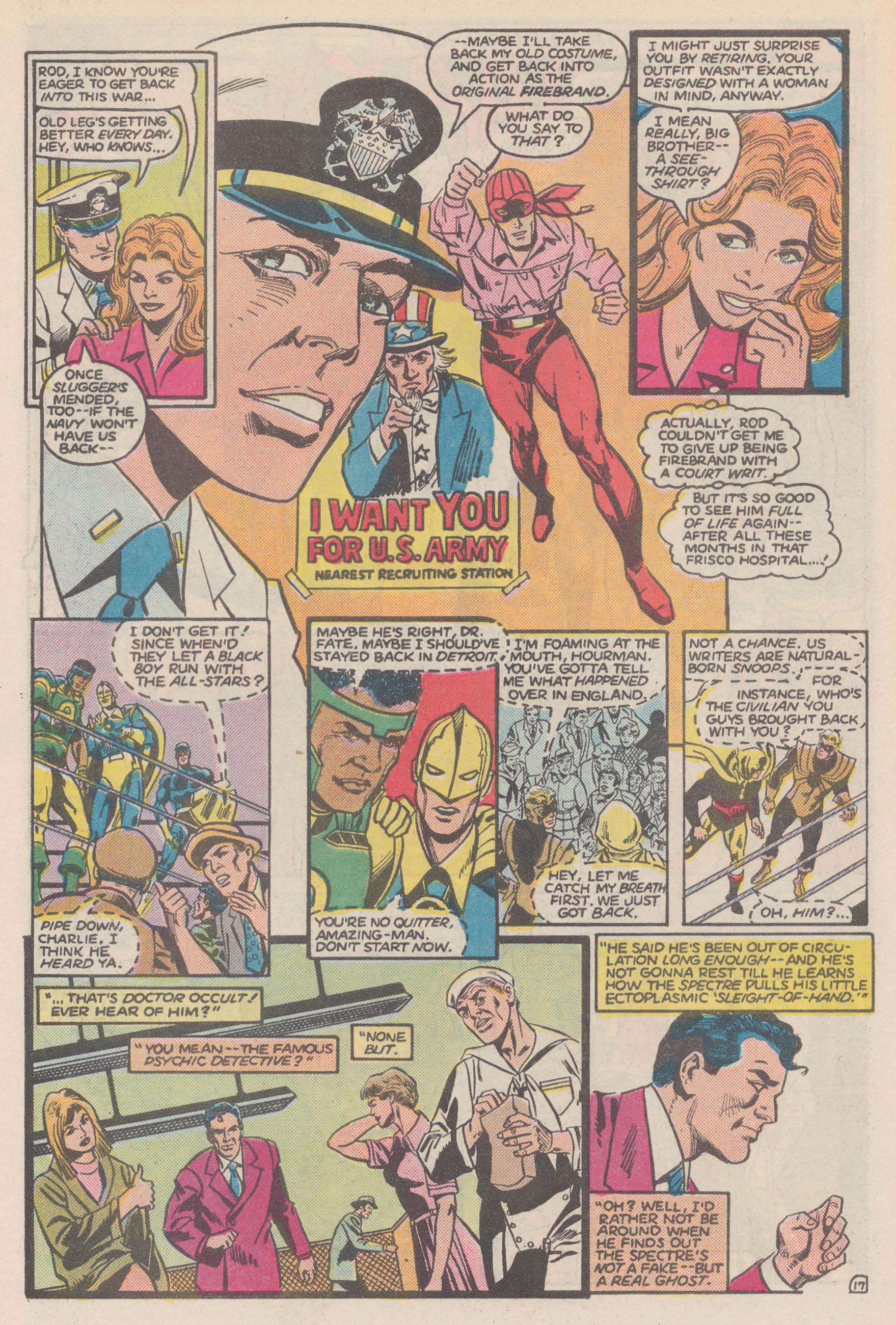 Read online All-Star Squadron comic -  Issue #50 - 22