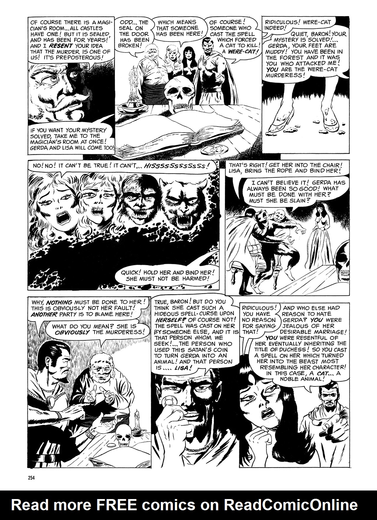 Read online Eerie Archives comic -  Issue # TPB 5 - 255
