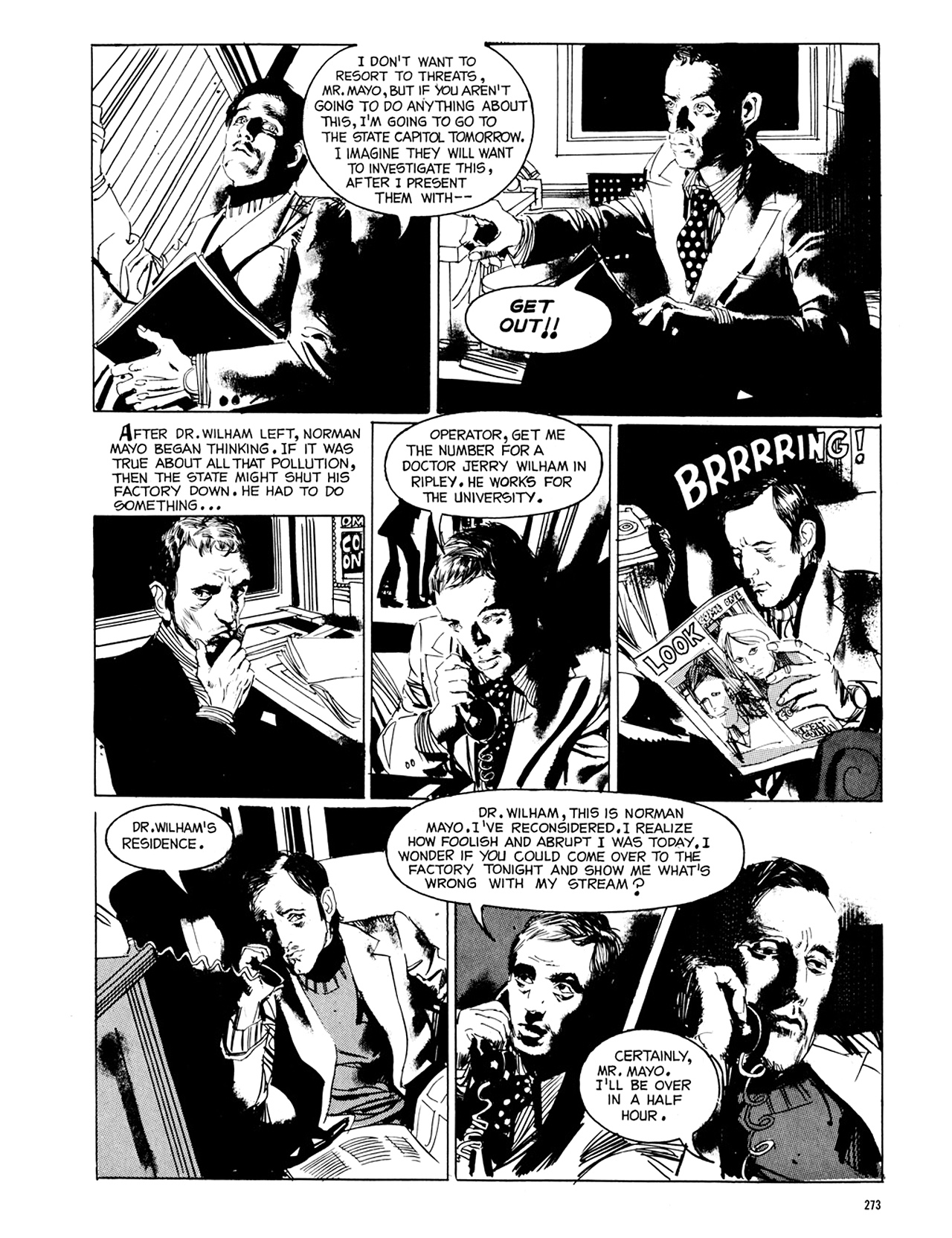 Read online Eerie Archives comic -  Issue # TPB 8 - 274