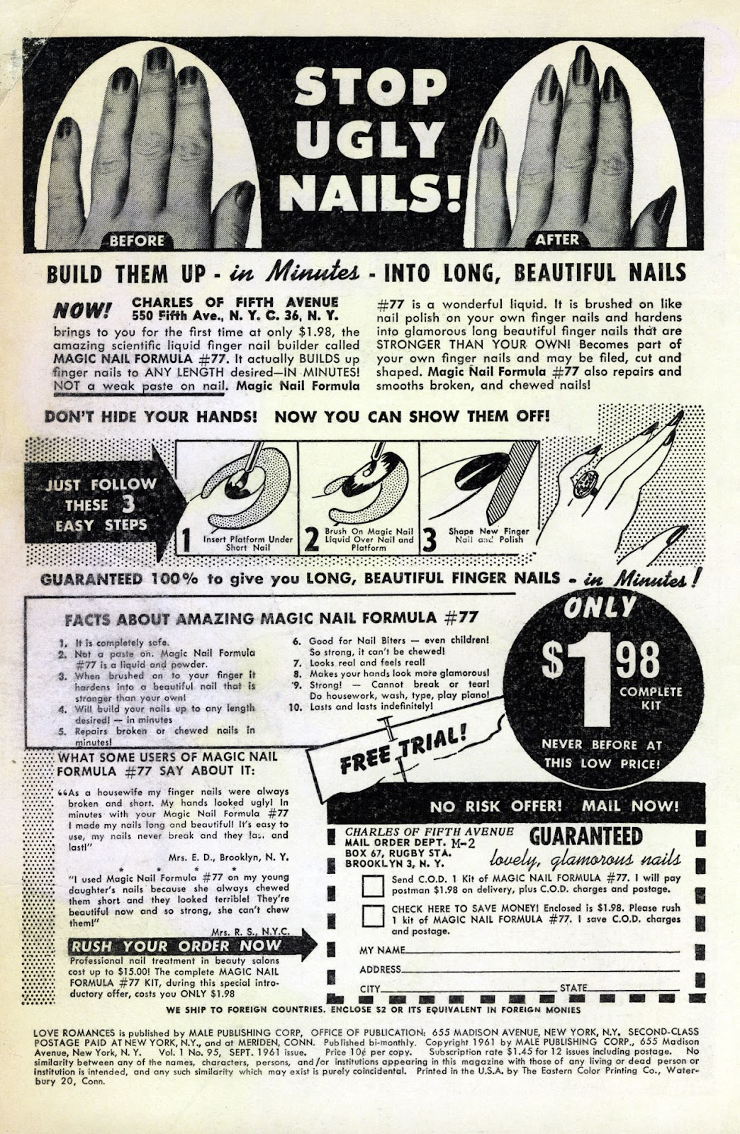 Love Romances (1949) issue 95 - Page 2