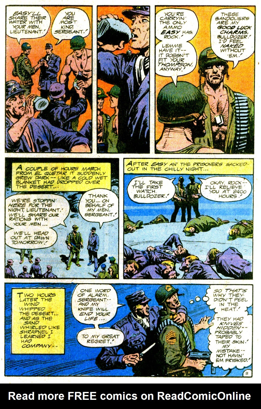 Read online Sgt. Rock comic -  Issue #370 - 16