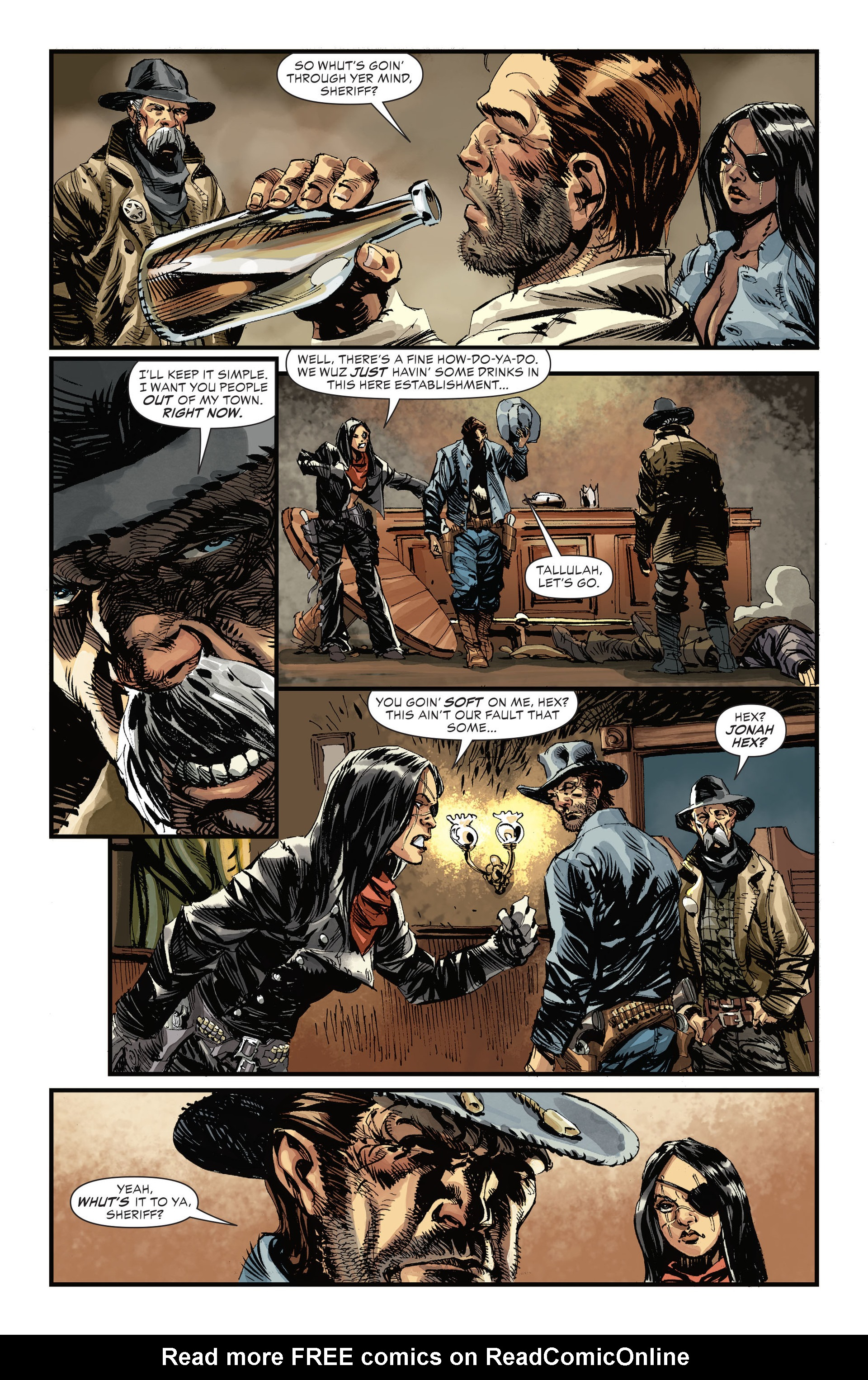 Read online All-Star Western (2011) comic -  Issue #31 - 10